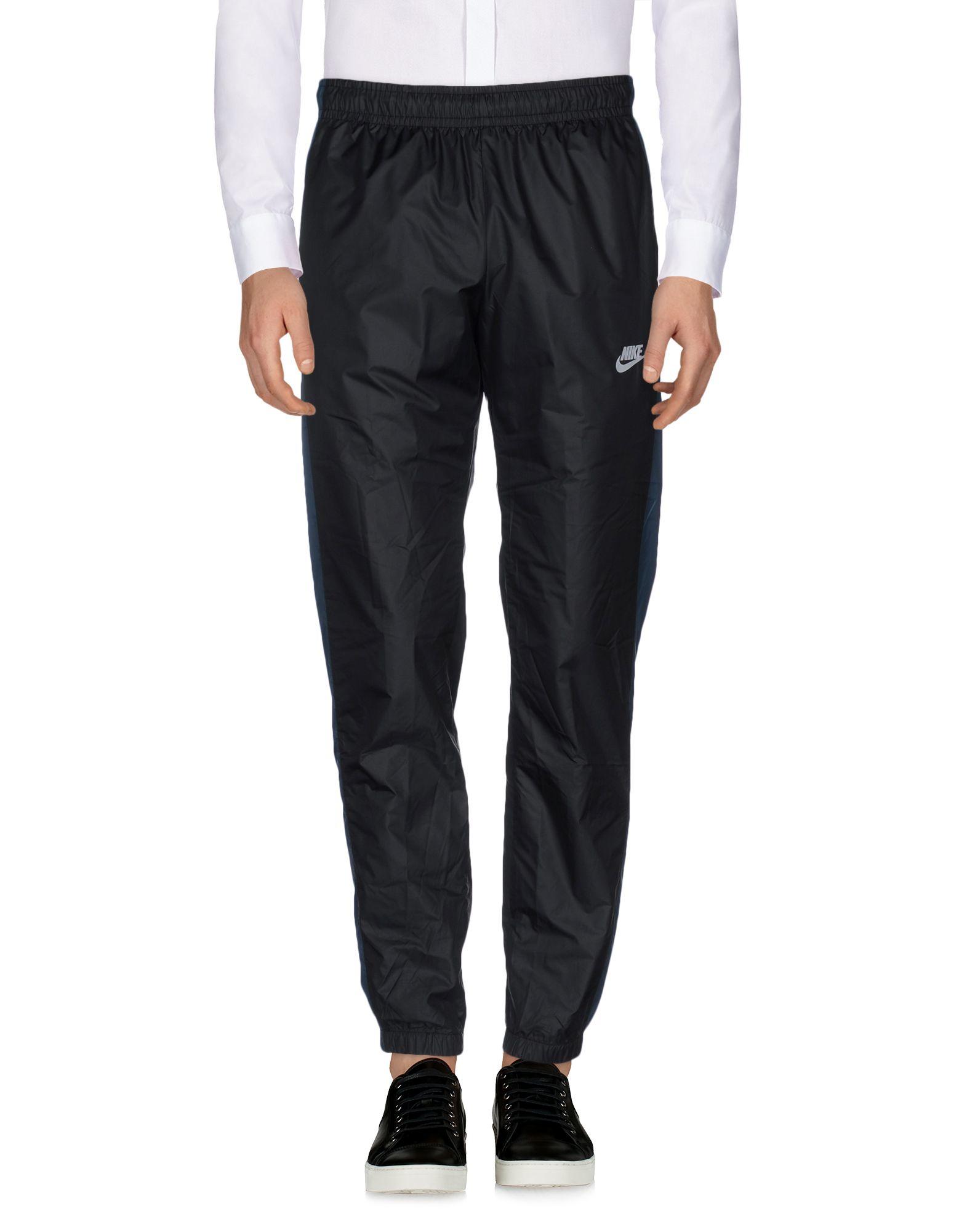 Lyst - Nike Casual Pants in Black for Men