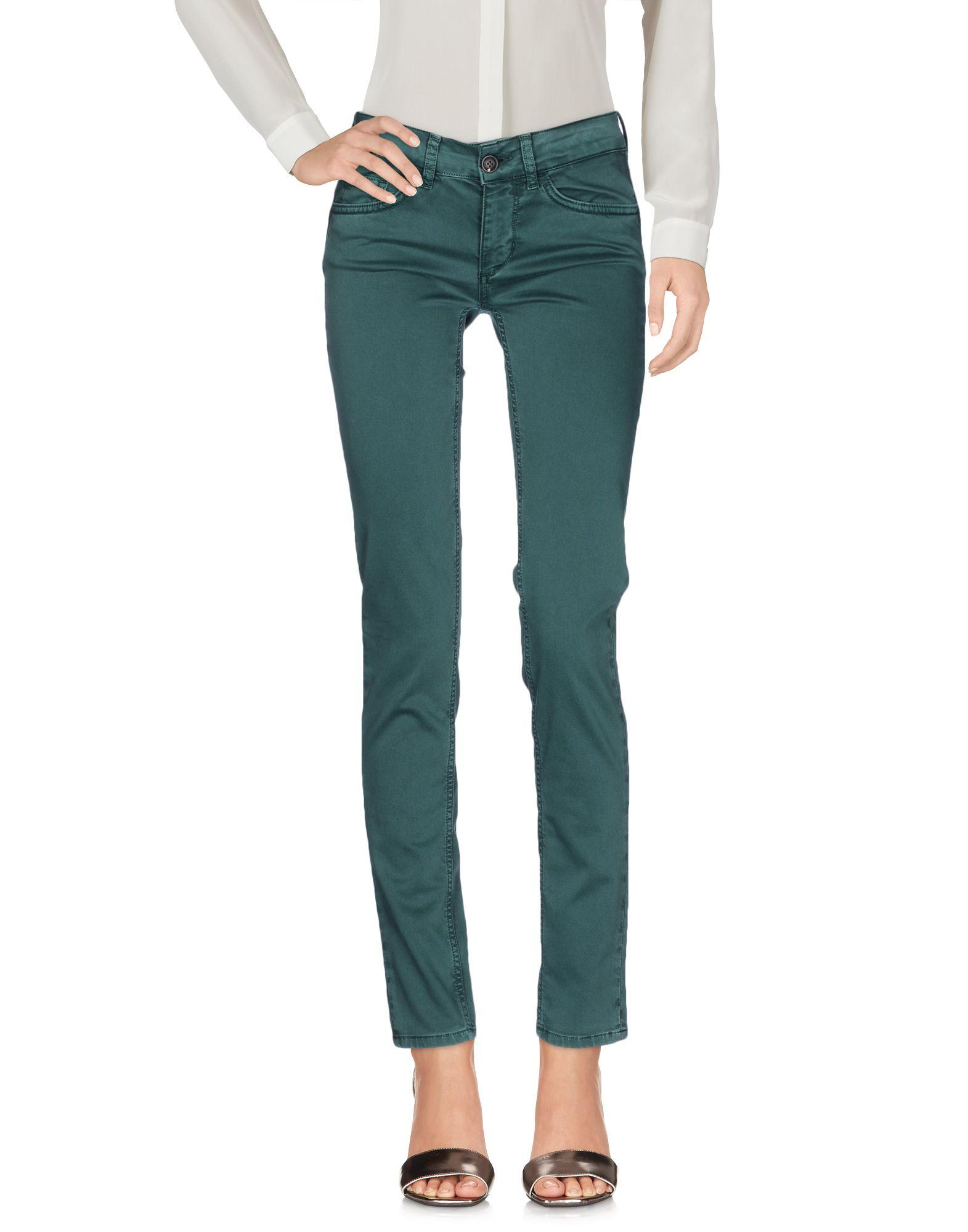 Liu jo casual trouser in green lyst for 20 34 35 dress shirts