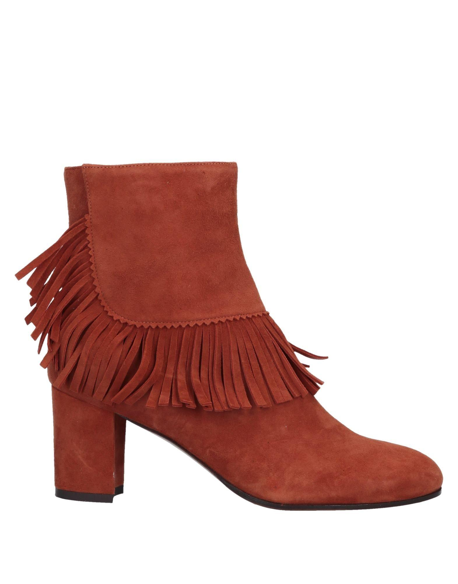 2e54b2f903f1 Lyst - L Autre Chose Ankle Boots in Red
