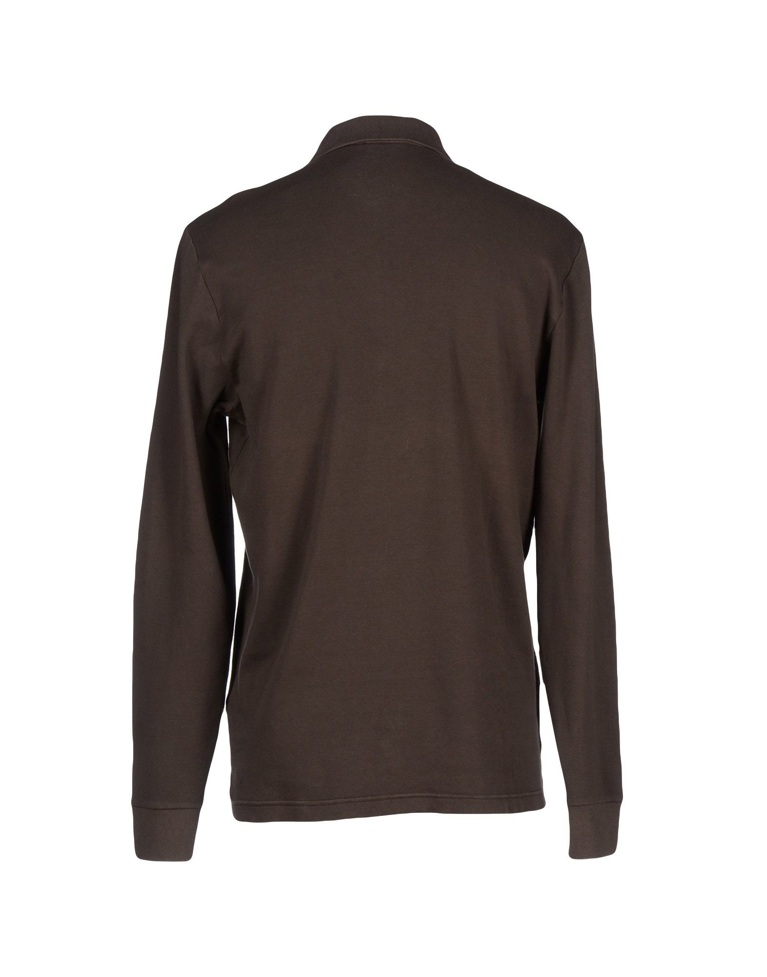 Lyst jeckerson polo shirt in brown for men for Black brown mens shirts