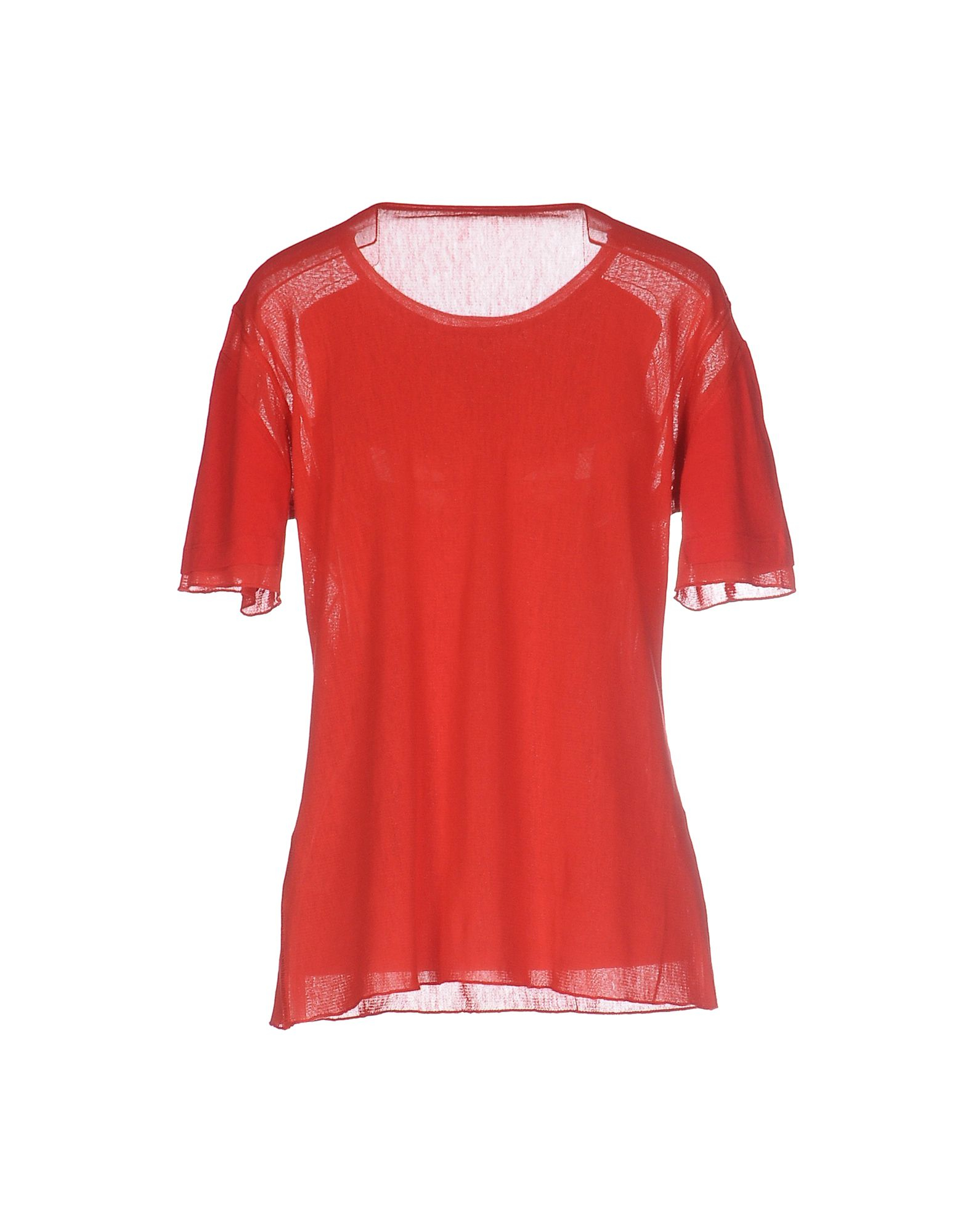 Lyst T By Alexander Wang T Shirt In Red