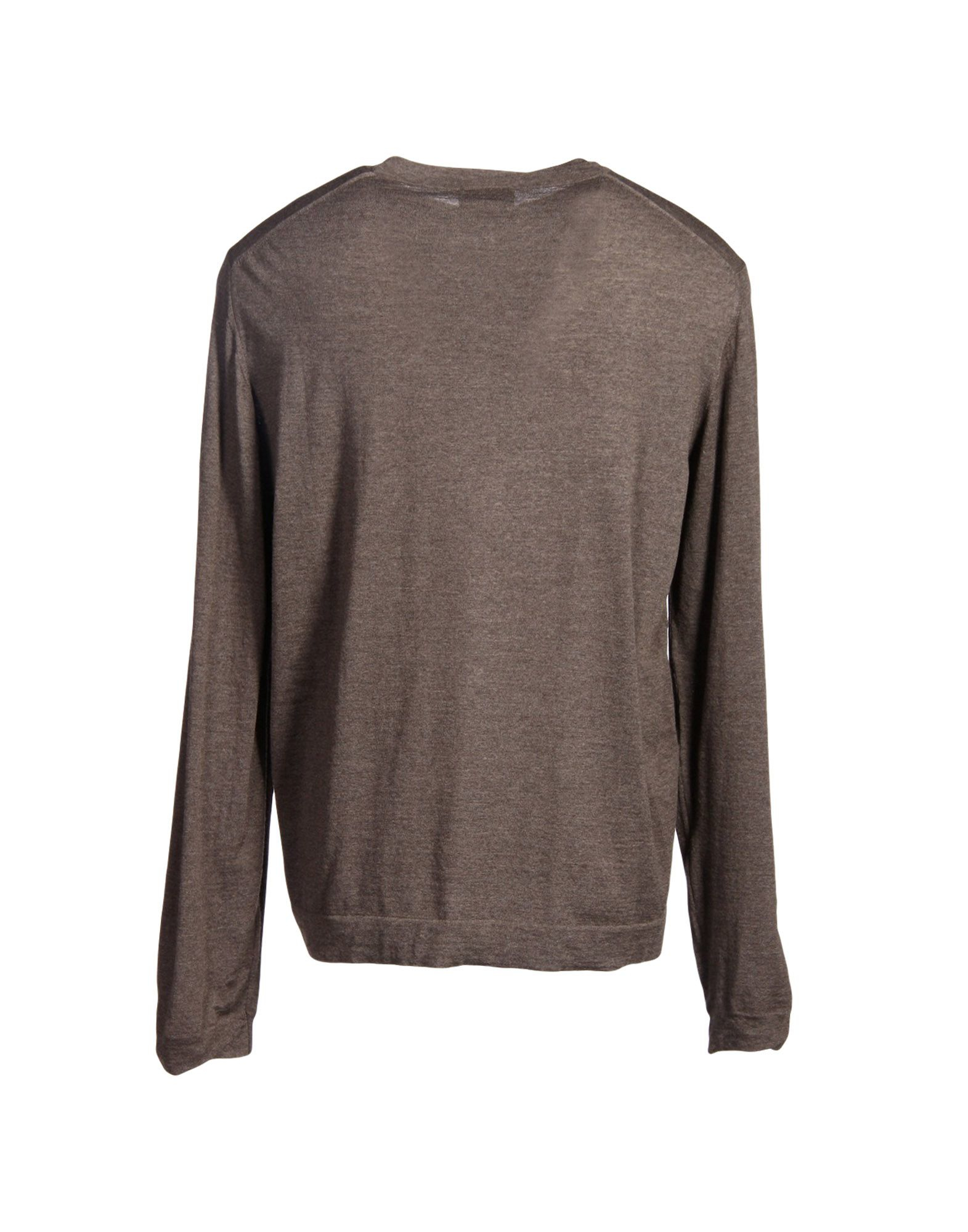 lyst emporio armani sweater in brown for men. Black Bedroom Furniture Sets. Home Design Ideas