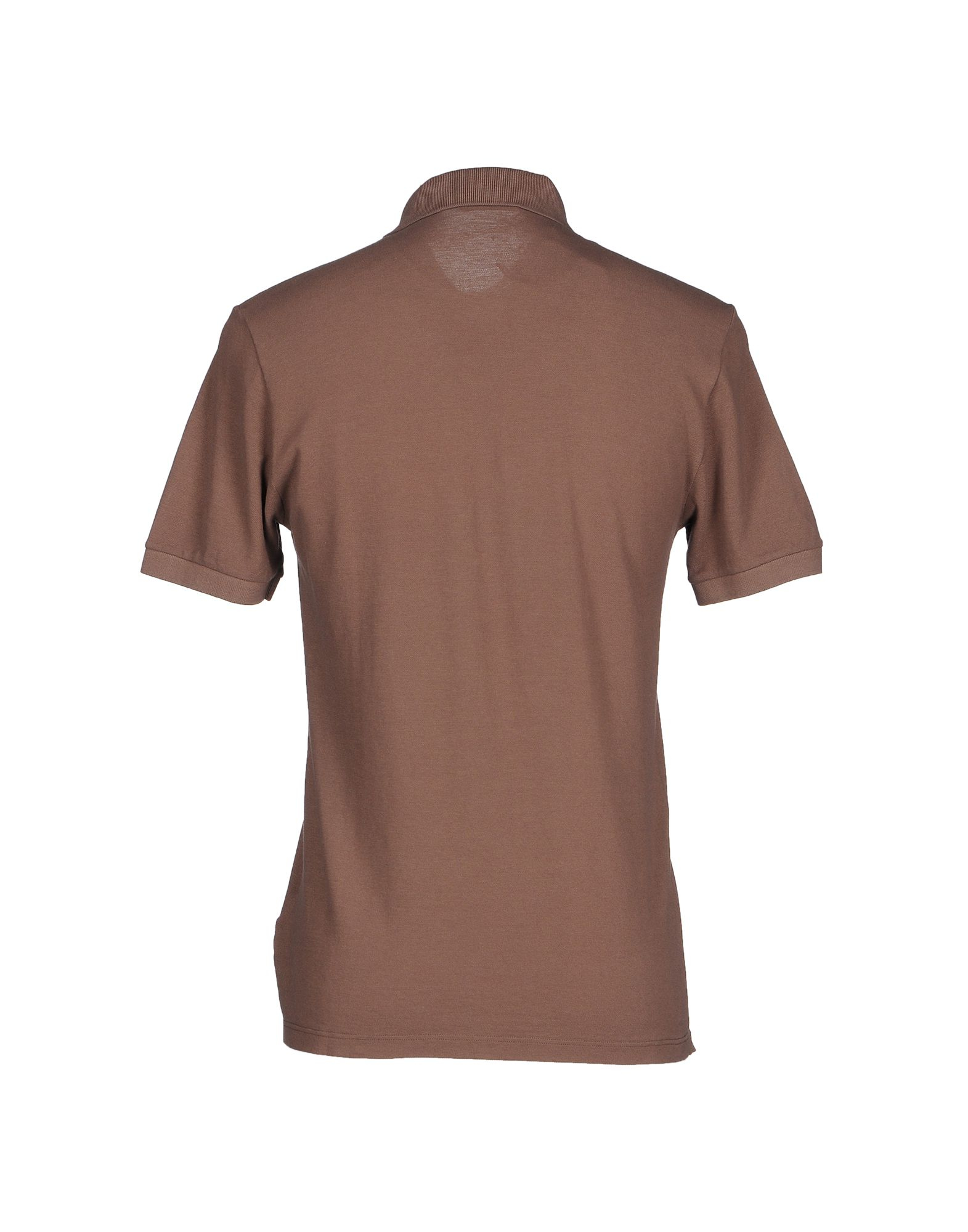 Brooksfield polo shirt in multicolor for men light brown for Light brown polo shirt