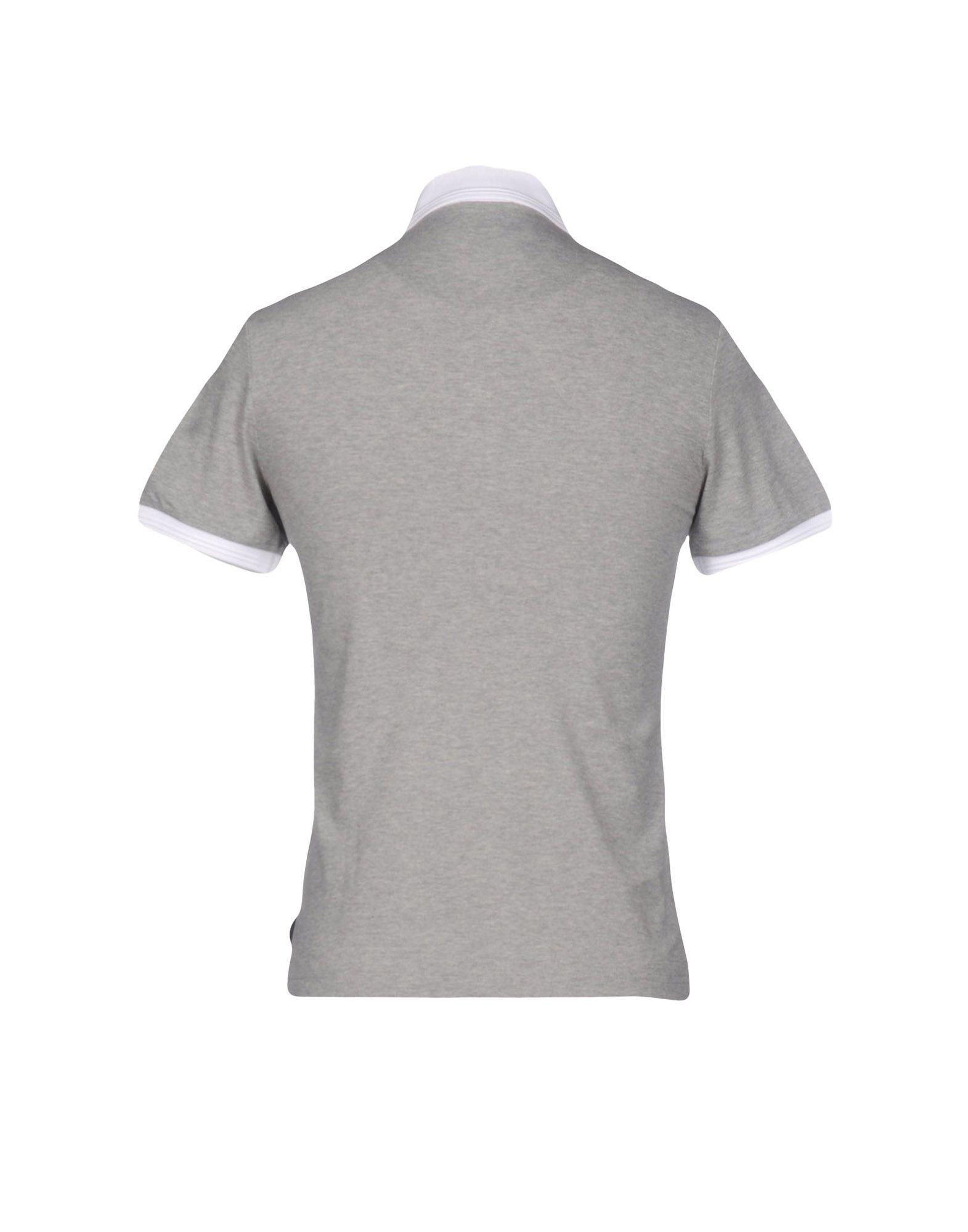 b42f2a999 Lyst - Moncler Polo Shirt in Gray for Men
