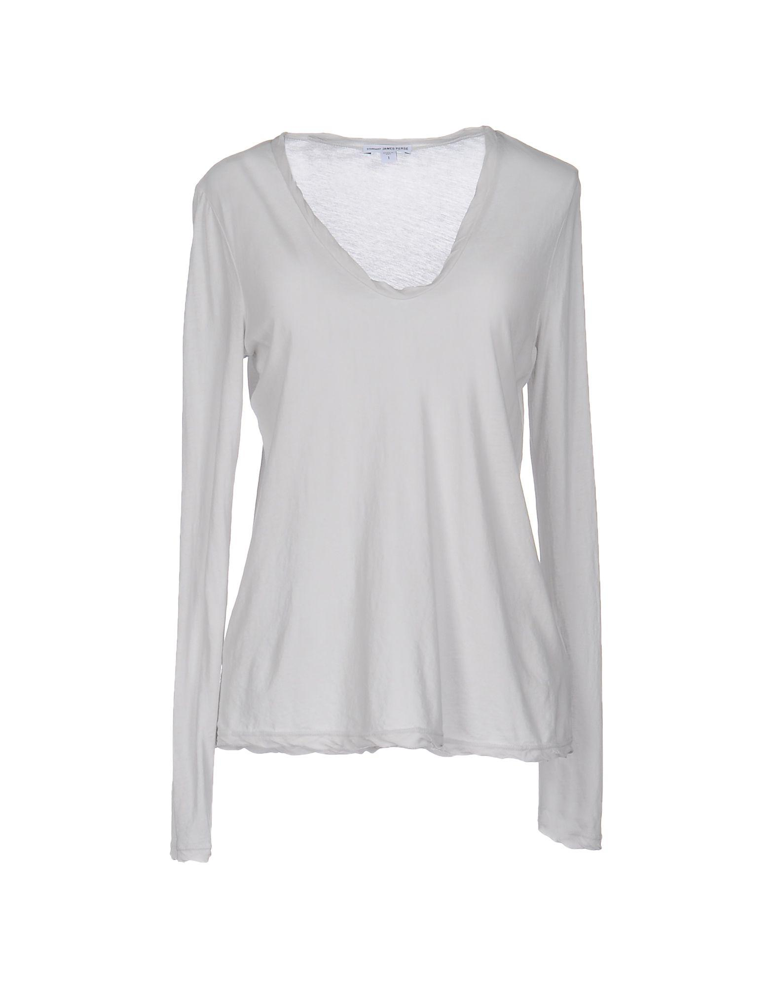 James perse t shirt in gray lyst for James perse t shirts sale