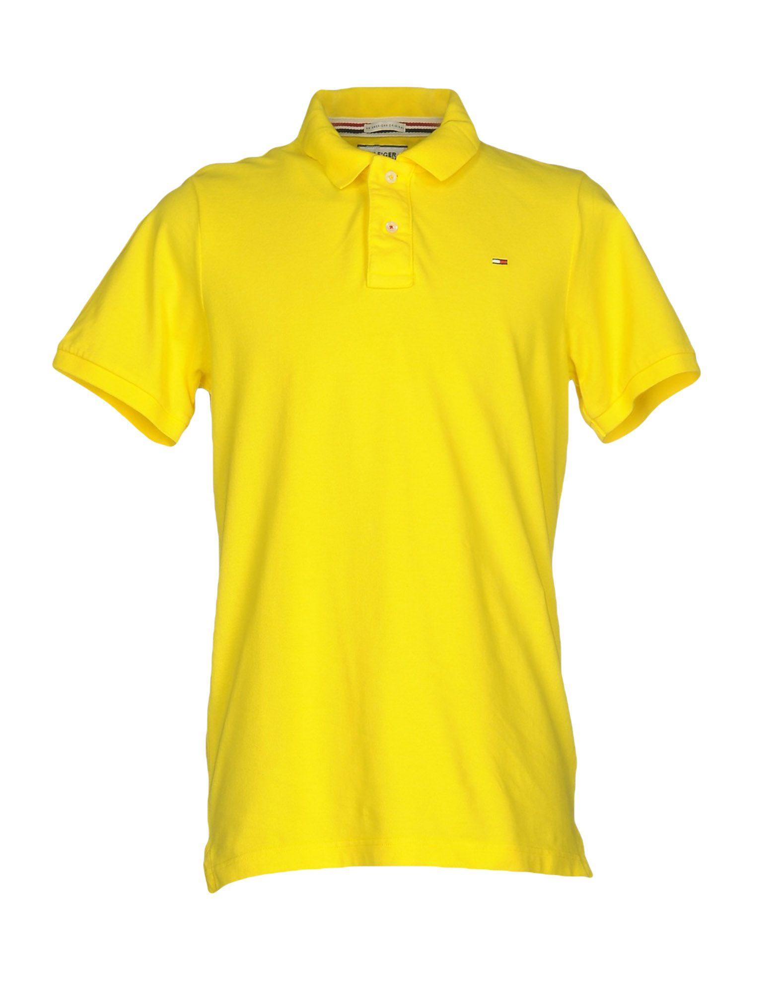 Hilfiger Denim Polo Shirt In Yellow For Men Lyst