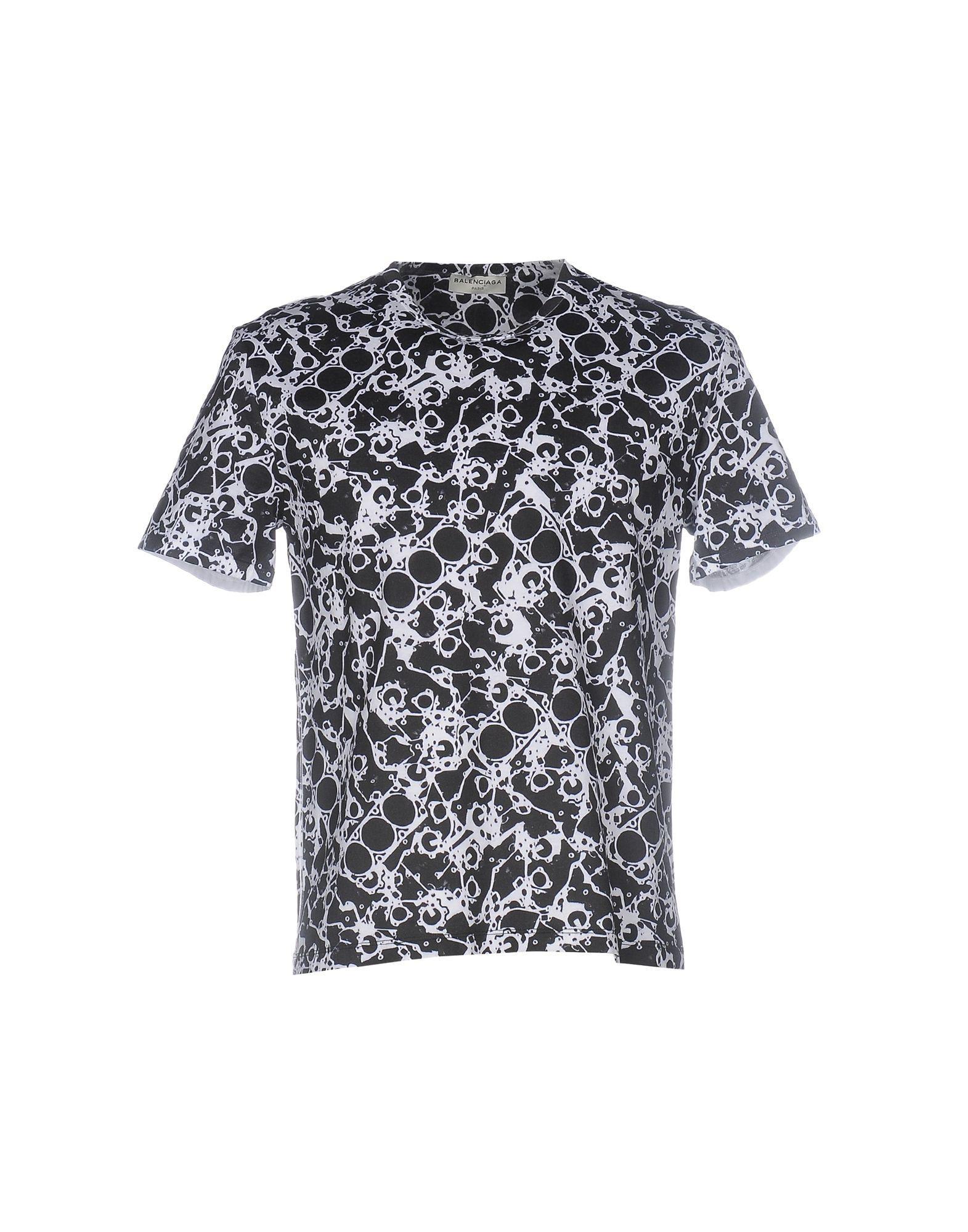 ab60299e0ae Balenciaga Paris Mens T Shirt
