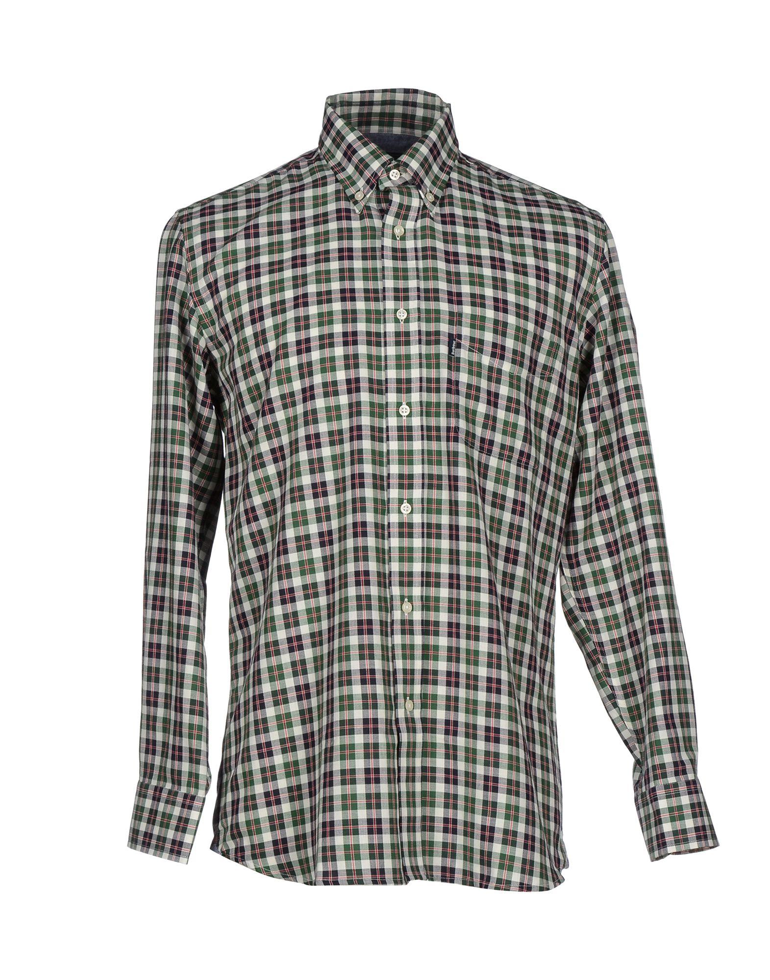 Barbour Shirt In Black For Men Lyst