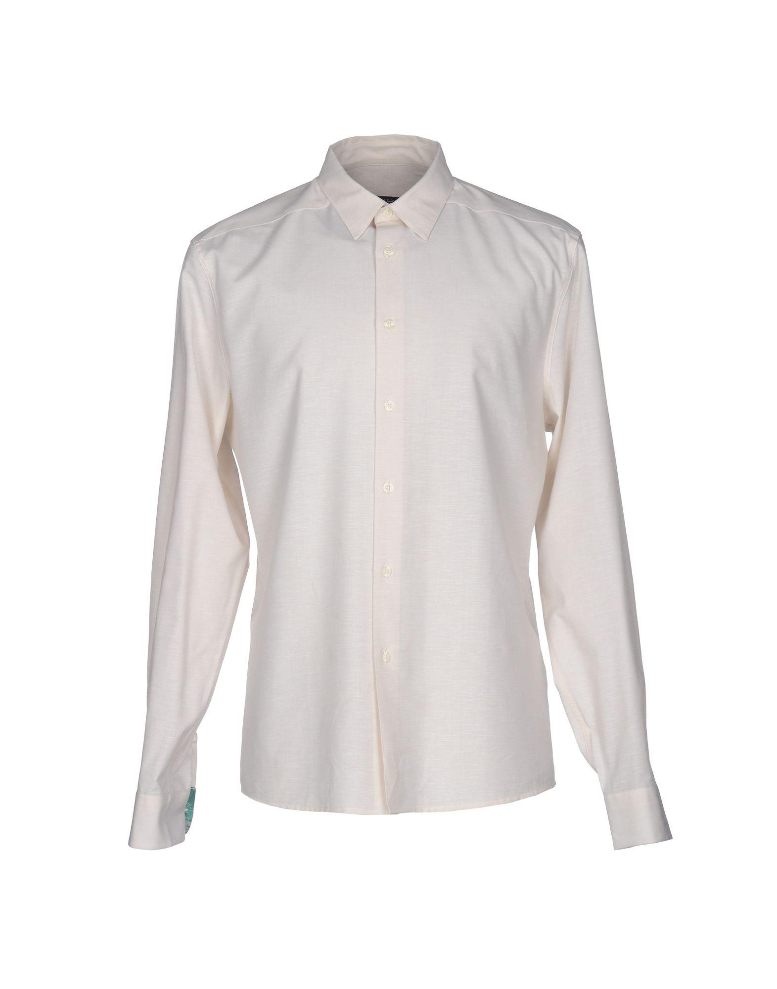 Lyst Ps By Paul Smith Shirt In Natural For Men