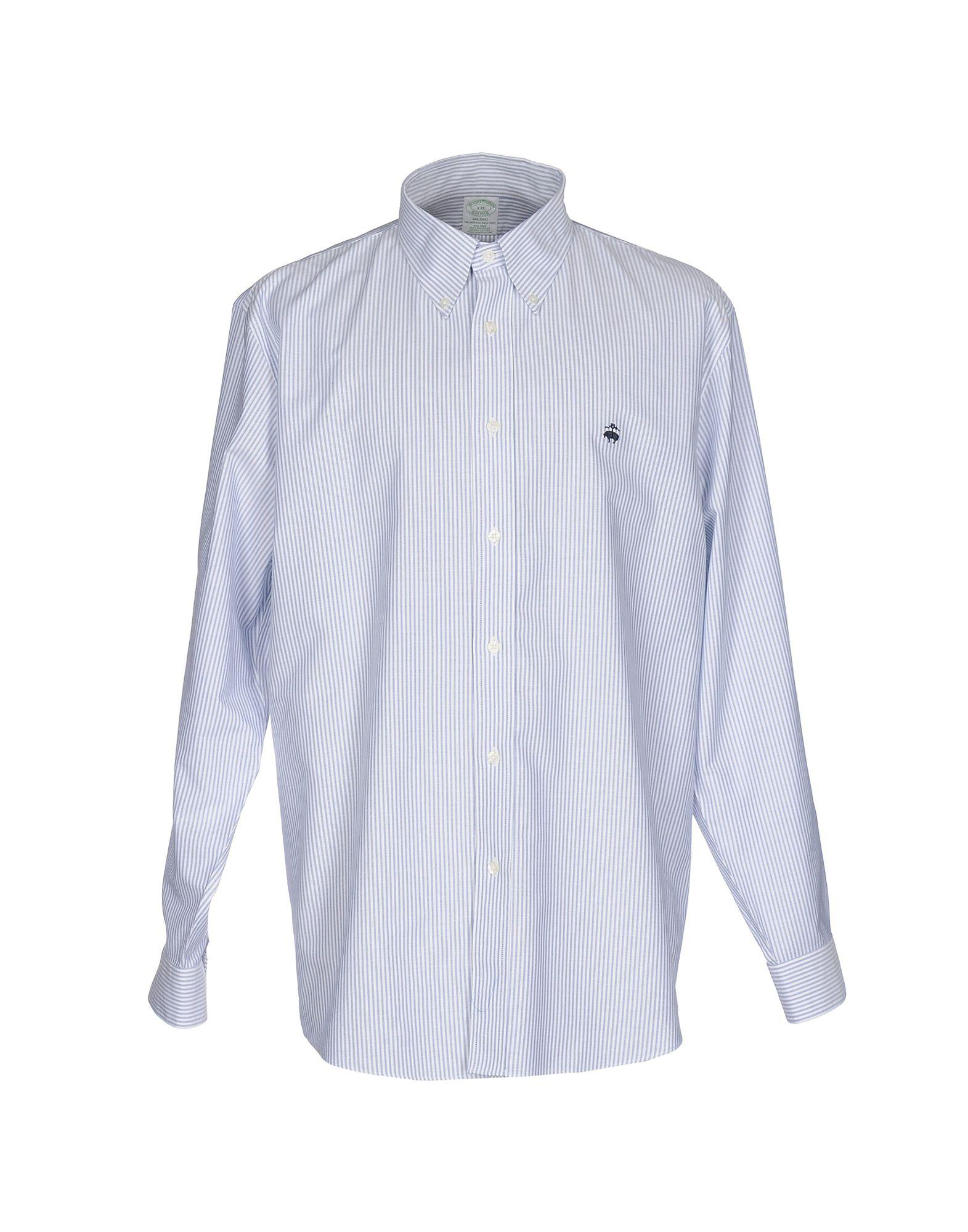 lyst brooks brothers shirts in blue for men save 71