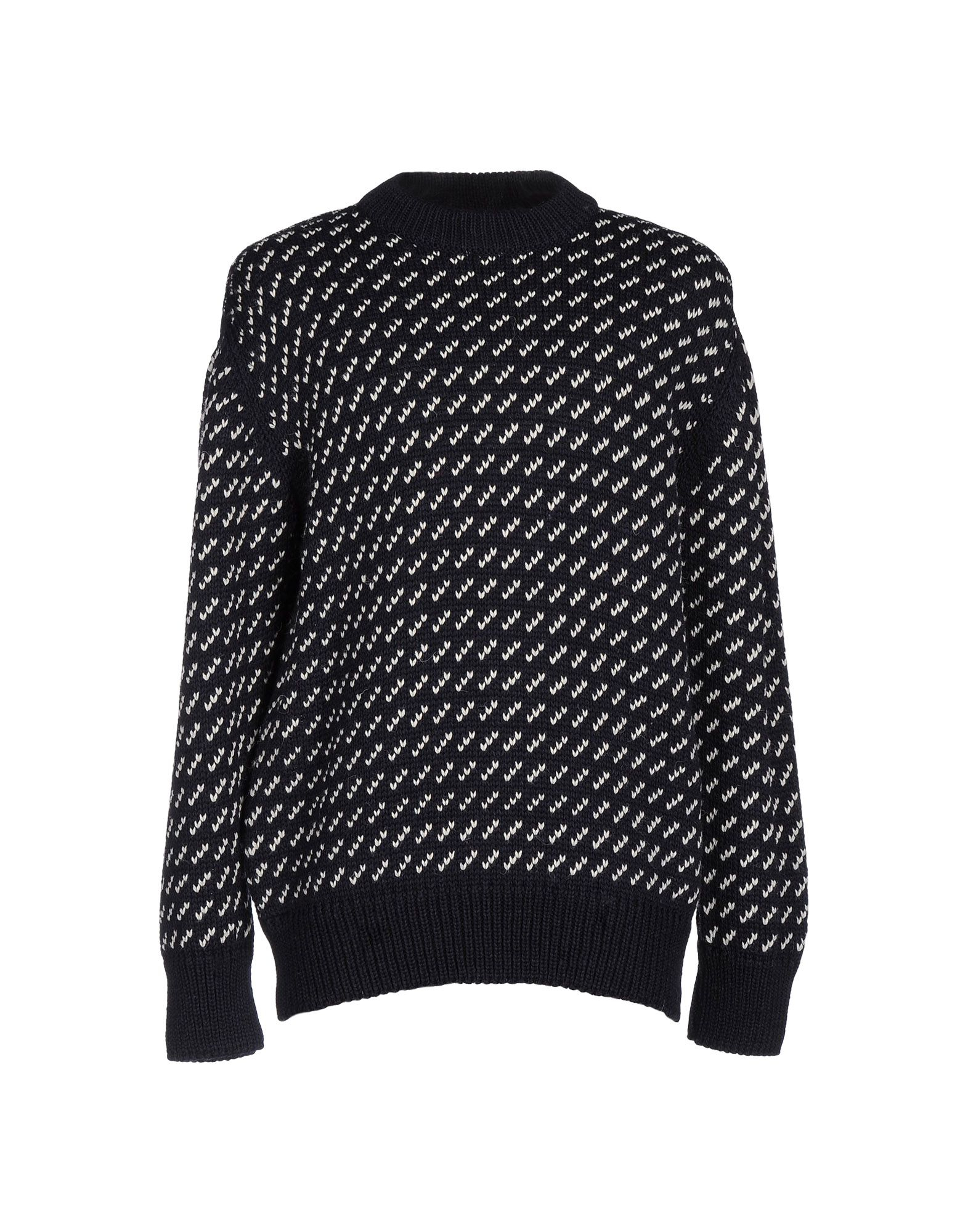 324c88ad4d649 Lyst - Gloverall Jumper With Pattern in Black for Men
