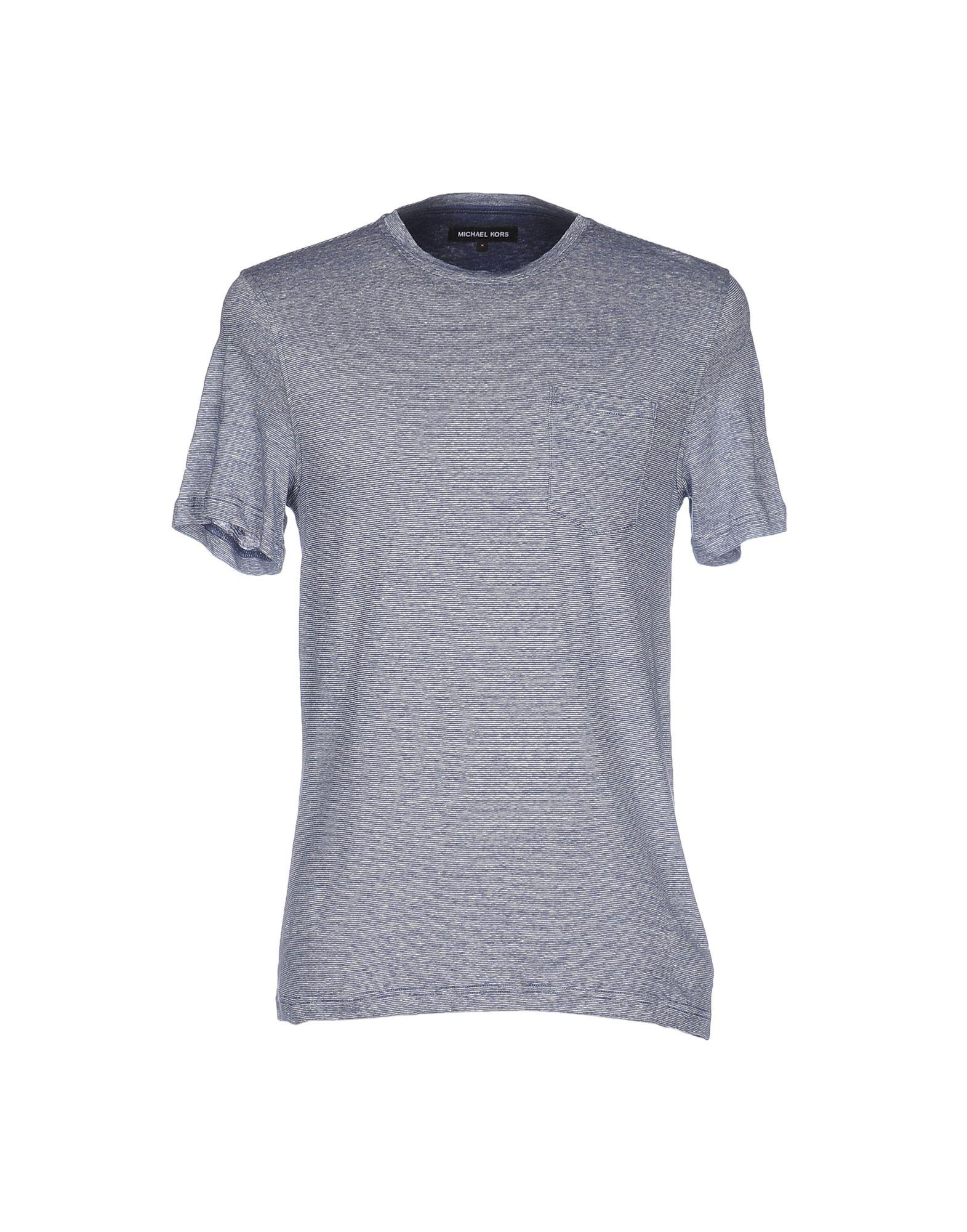 lyst michael kors t shirt in blue for men. Black Bedroom Furniture Sets. Home Design Ideas