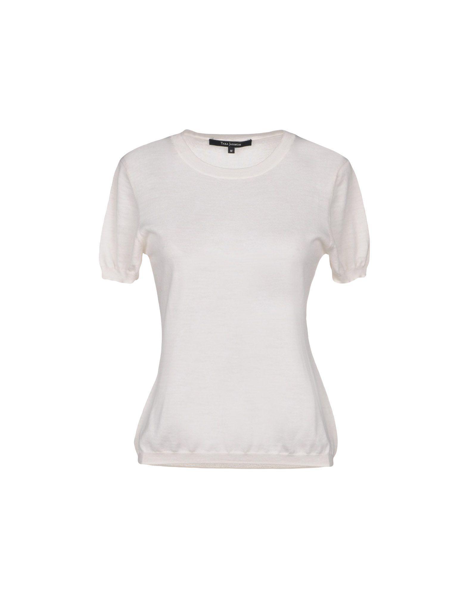 Tara Jarmon Sweaters in White - Lyst df52aa9fe