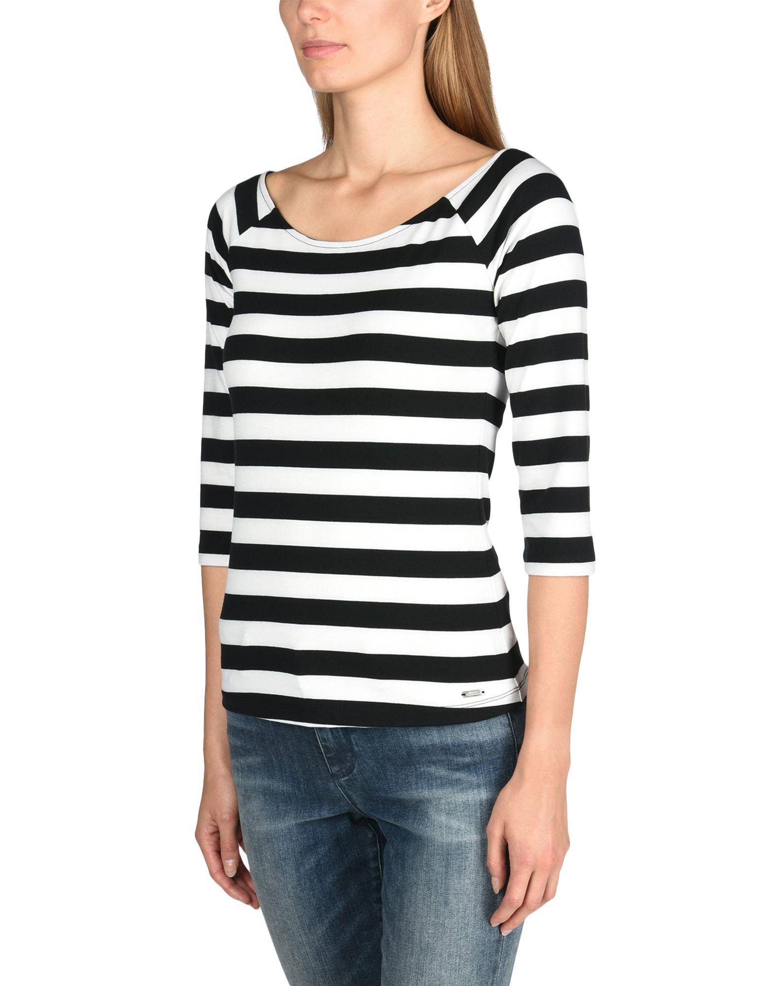 Noir Exchange Armani Shirt Coloris Lyst T En qvYTx1n