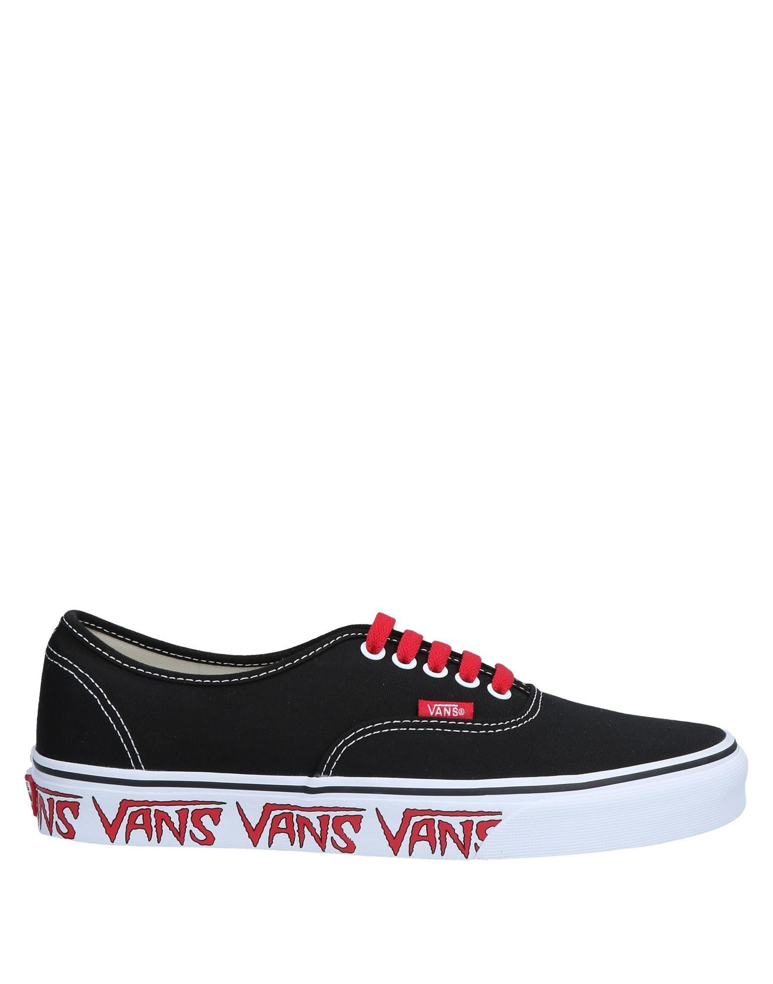 b5132f04efe86b Lyst - Vans Low-tops   Sneakers in Black for Men - Save 13%