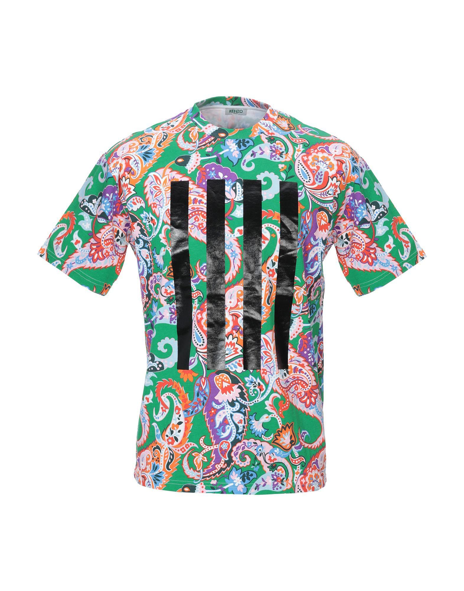 edce46497bfb Kenzo T-shirt in Green for Men - Lyst
