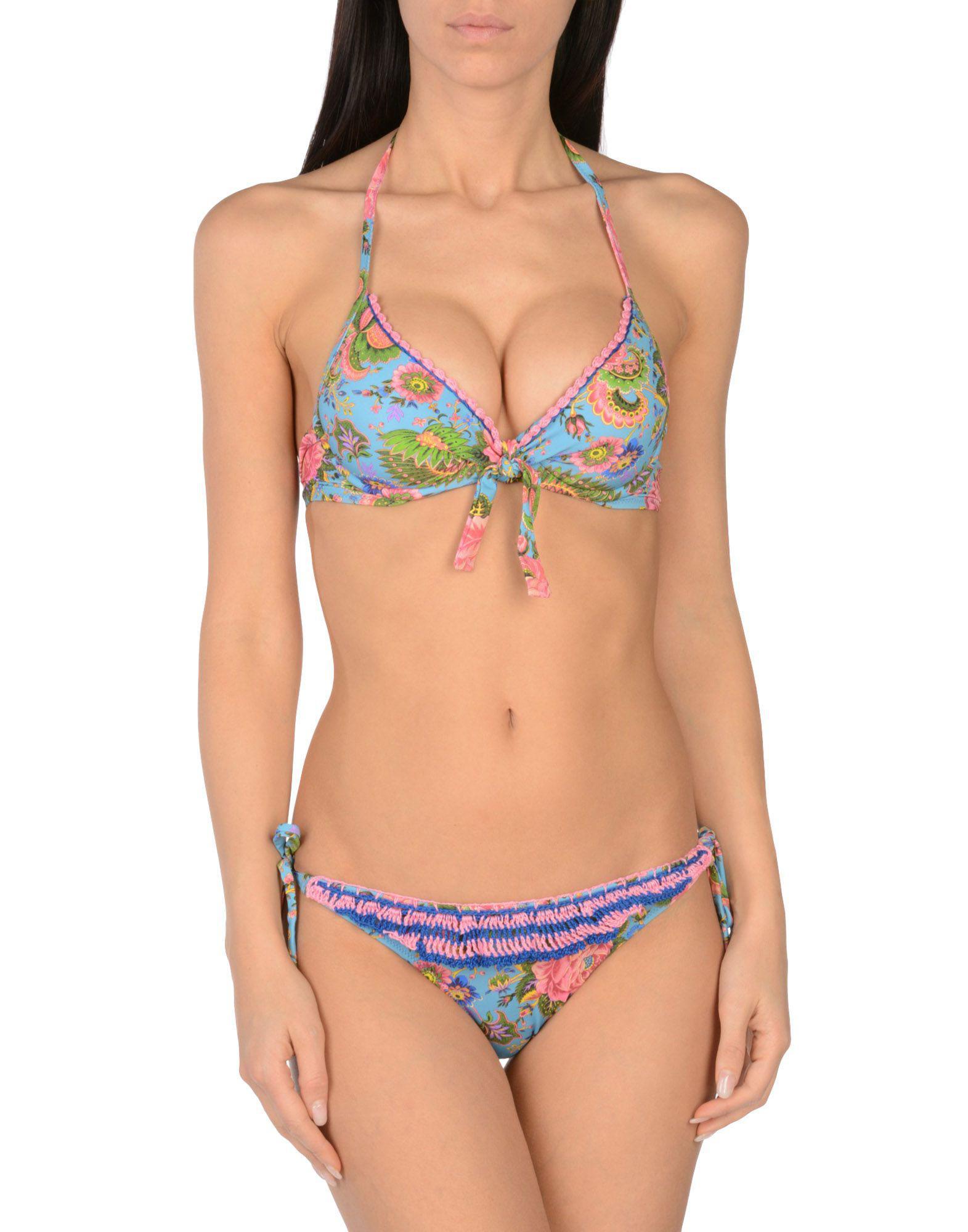 Amazon Online Order For Sale embroidered bikini set - Blue Anjuna nUssoGFQ