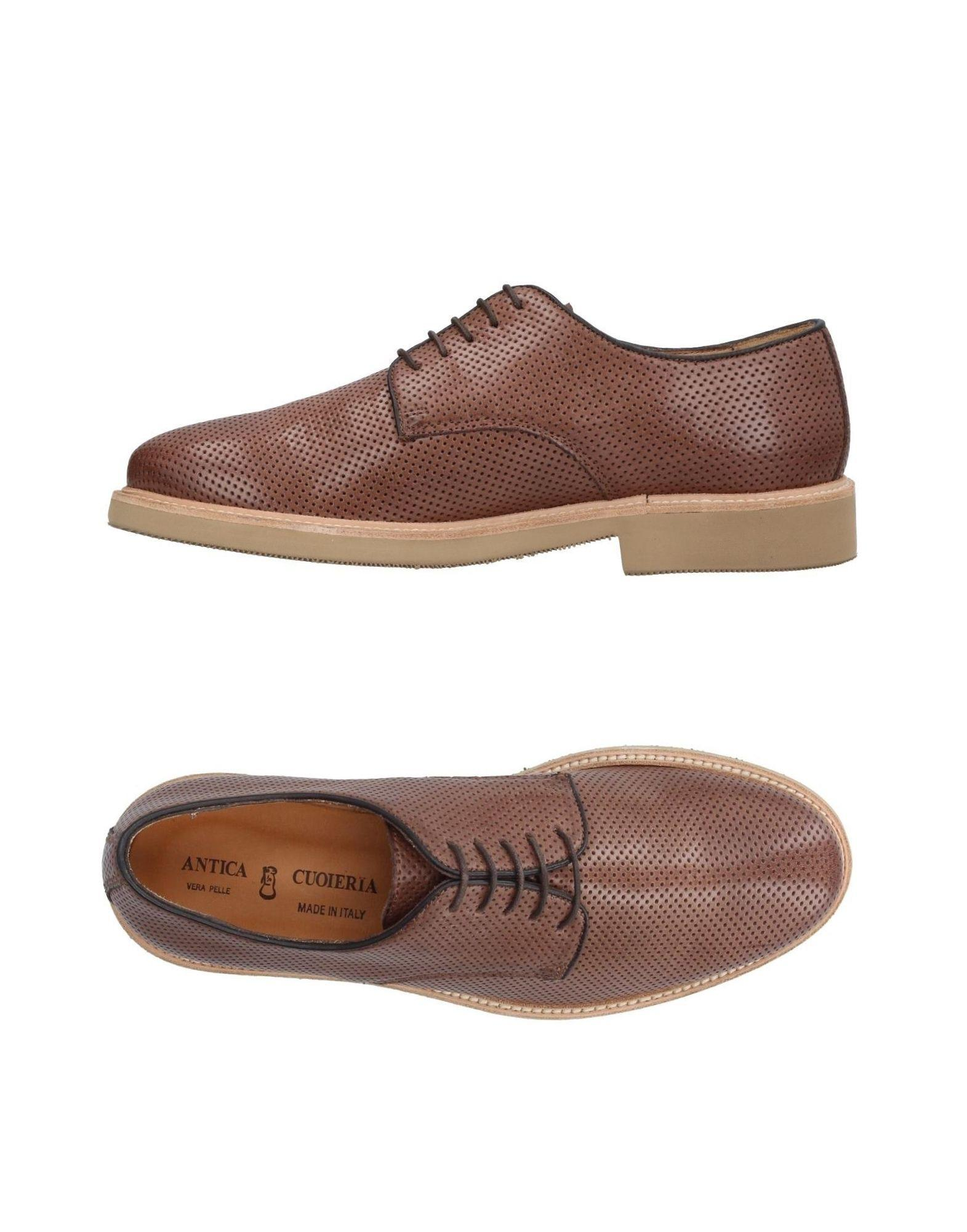 Cuoieria Chaussures À Lacets b5HZ9D