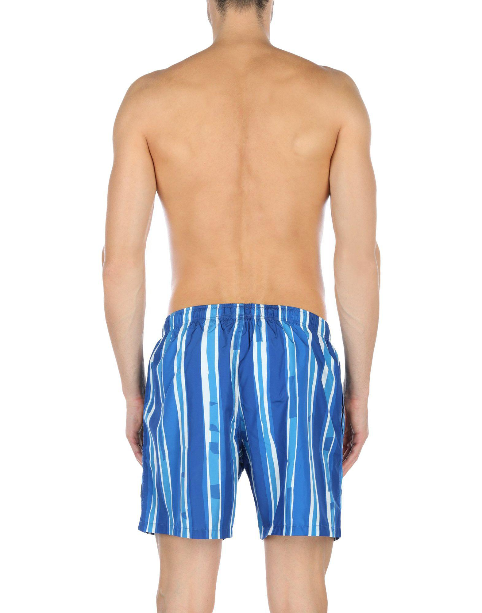 d10bad26c3 Lyst - Ermenegildo Zegna Swim Trunks in Blue for Men