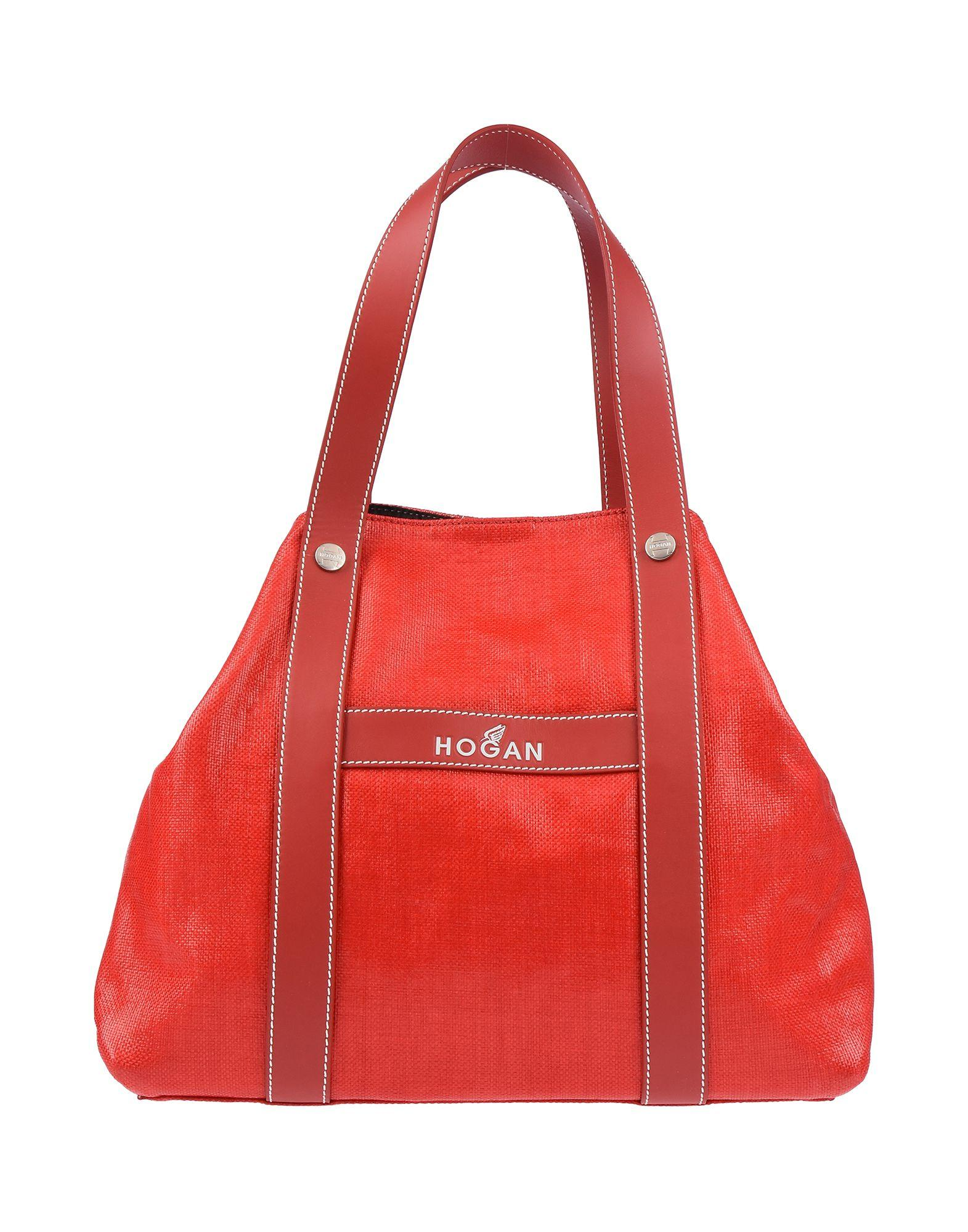 Hogan - Red Handbag - Lyst. View fullscreen aec406576c127