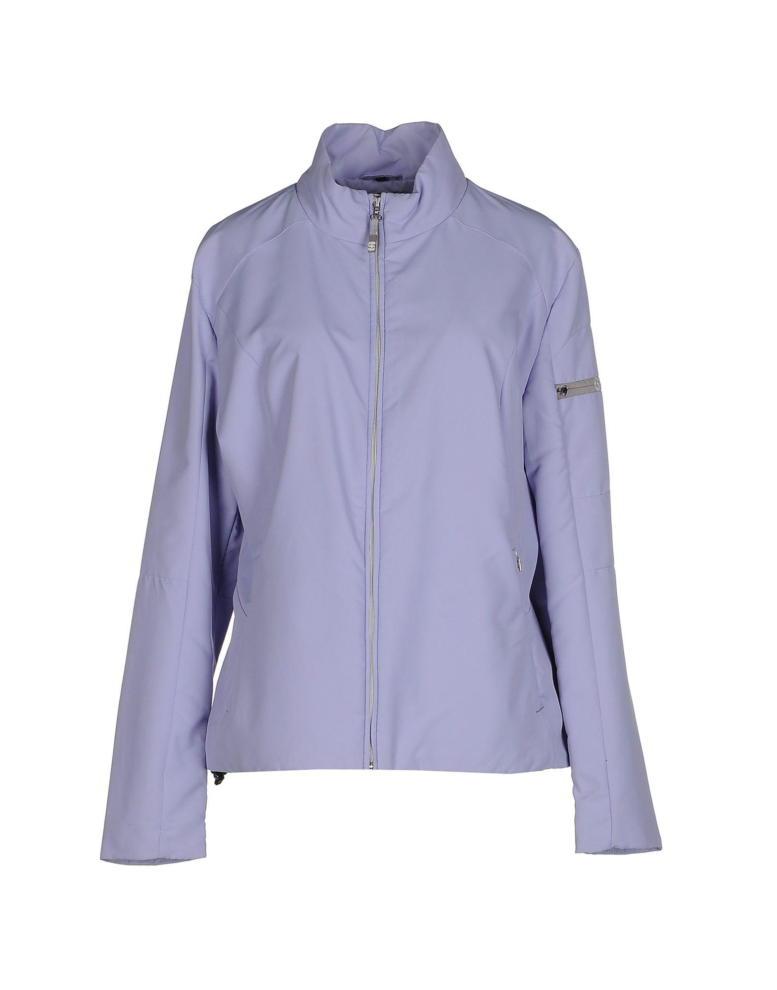 colmar jacket in purple lyst. Black Bedroom Furniture Sets. Home Design Ideas