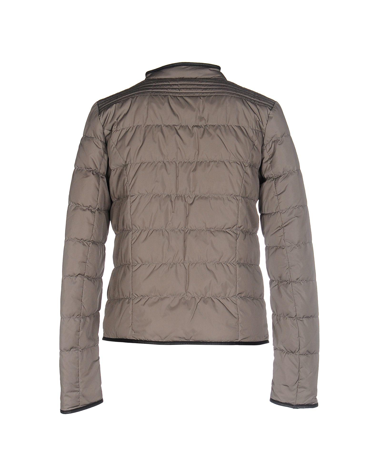 Maison scotch down jacket in gray lyst for Atelier maison scotch