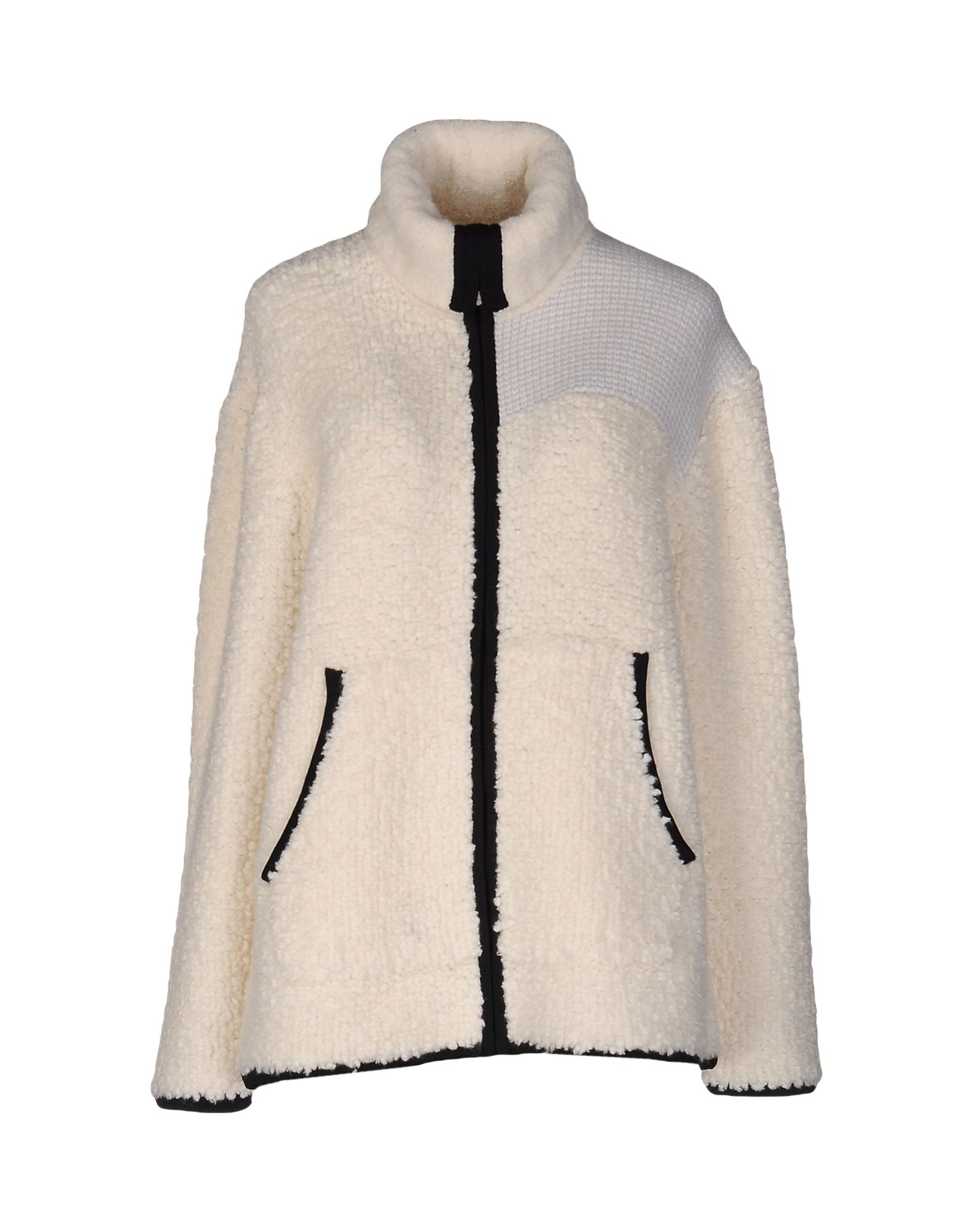 t by alexander wang cardigan in white lyst. Black Bedroom Furniture Sets. Home Design Ideas