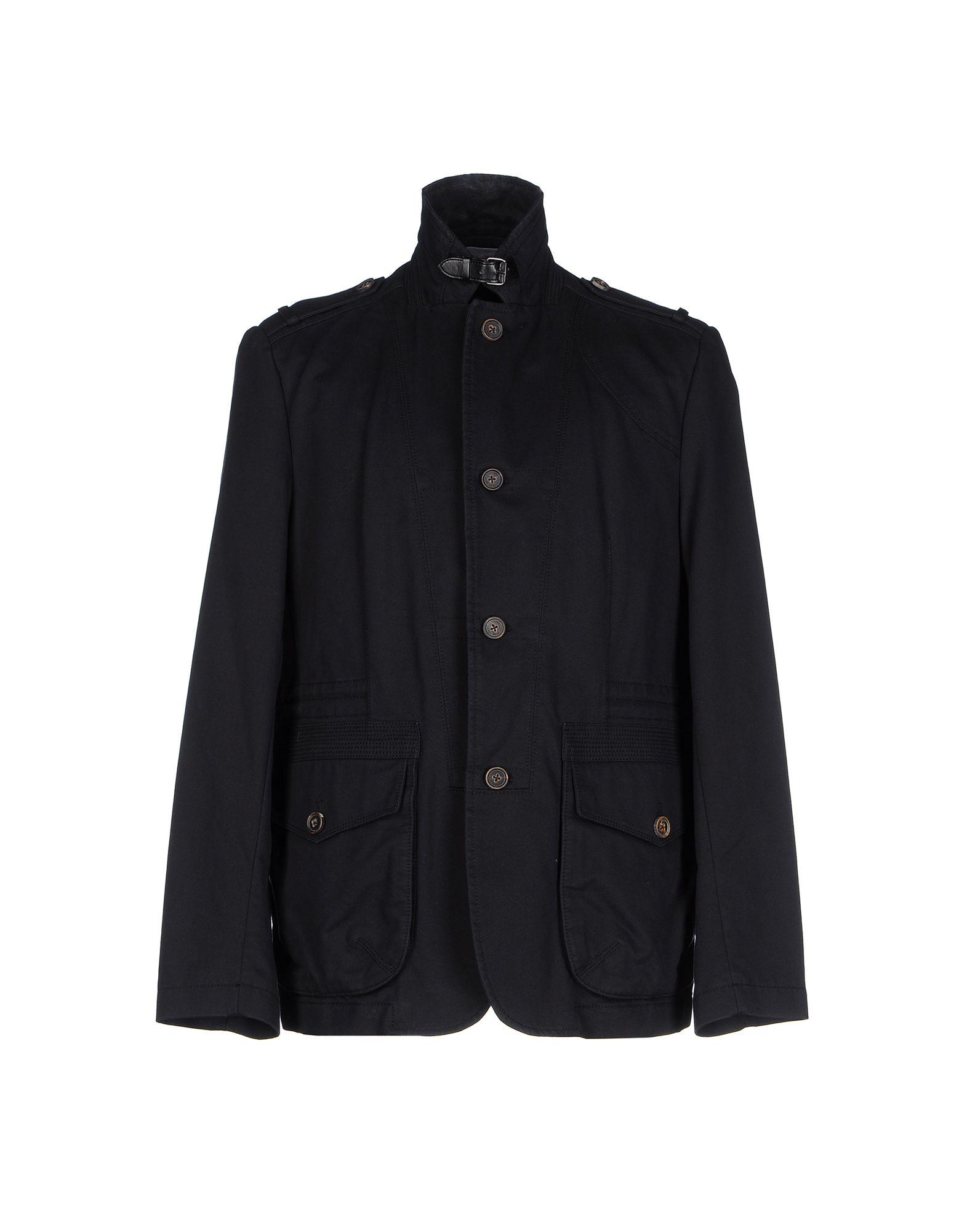 boss black jacket in blue for men dark blue lyst. Black Bedroom Furniture Sets. Home Design Ideas