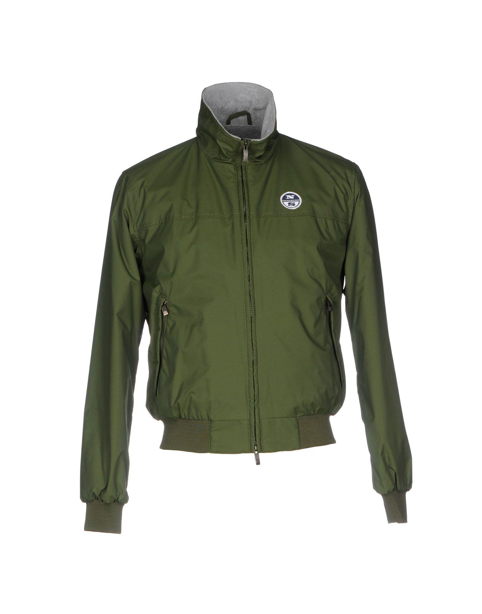 lyst north sails jacket in green for men. Black Bedroom Furniture Sets. Home Design Ideas