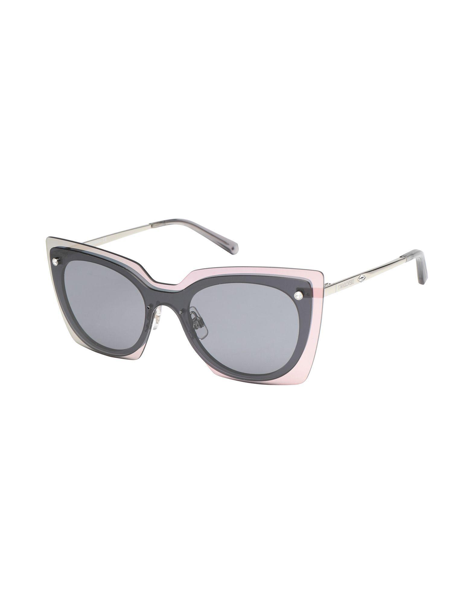 3be6741a23 Swarovski - Black Sunglasses - Lyst. View fullscreen