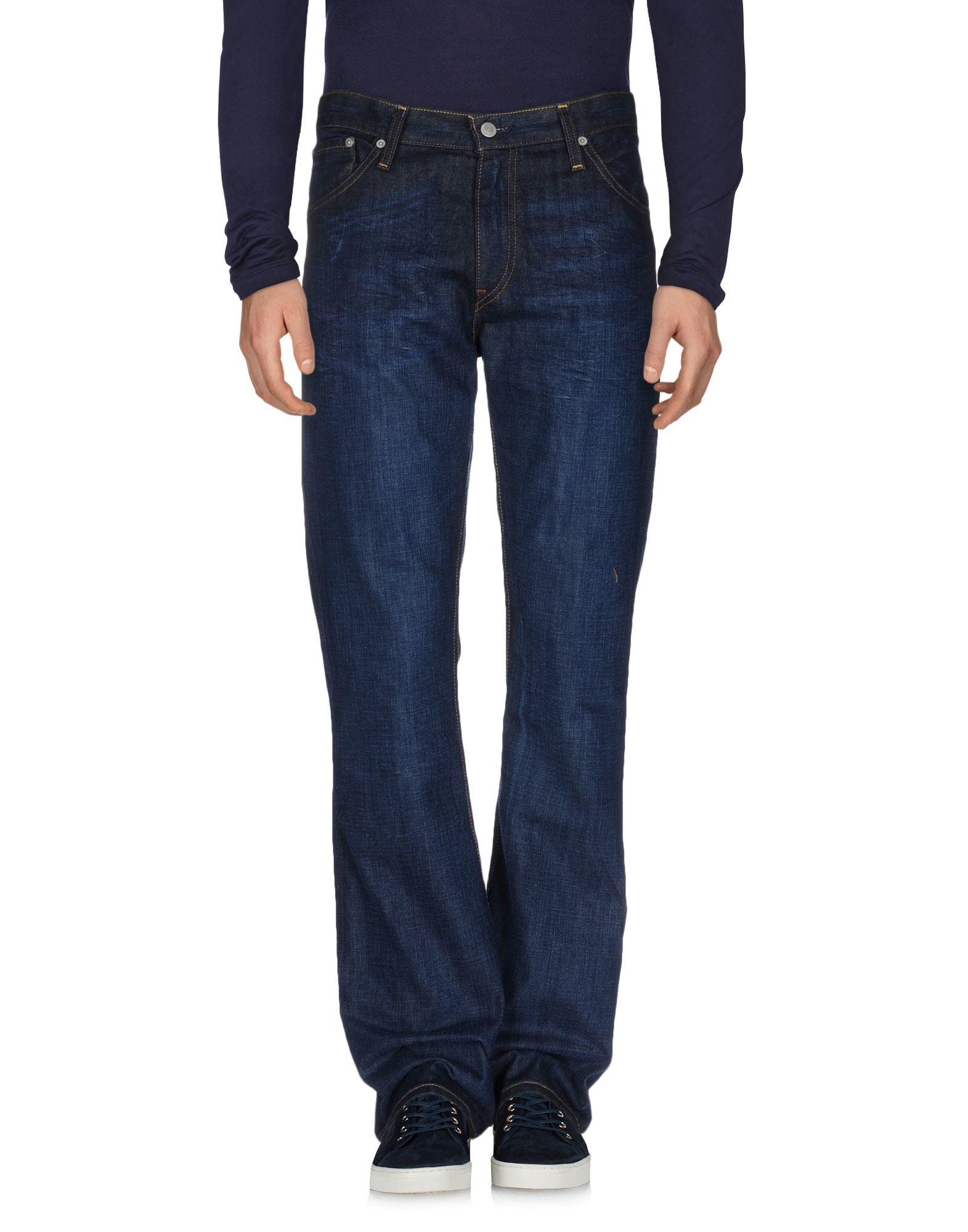 levi 39 s denim trousers in blue for men lyst. Black Bedroom Furniture Sets. Home Design Ideas