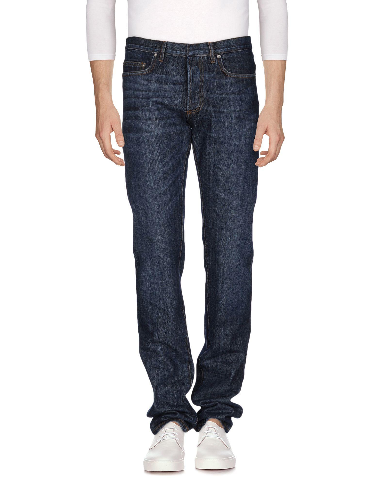 dior homme denim pants in blue for men lyst. Black Bedroom Furniture Sets. Home Design Ideas
