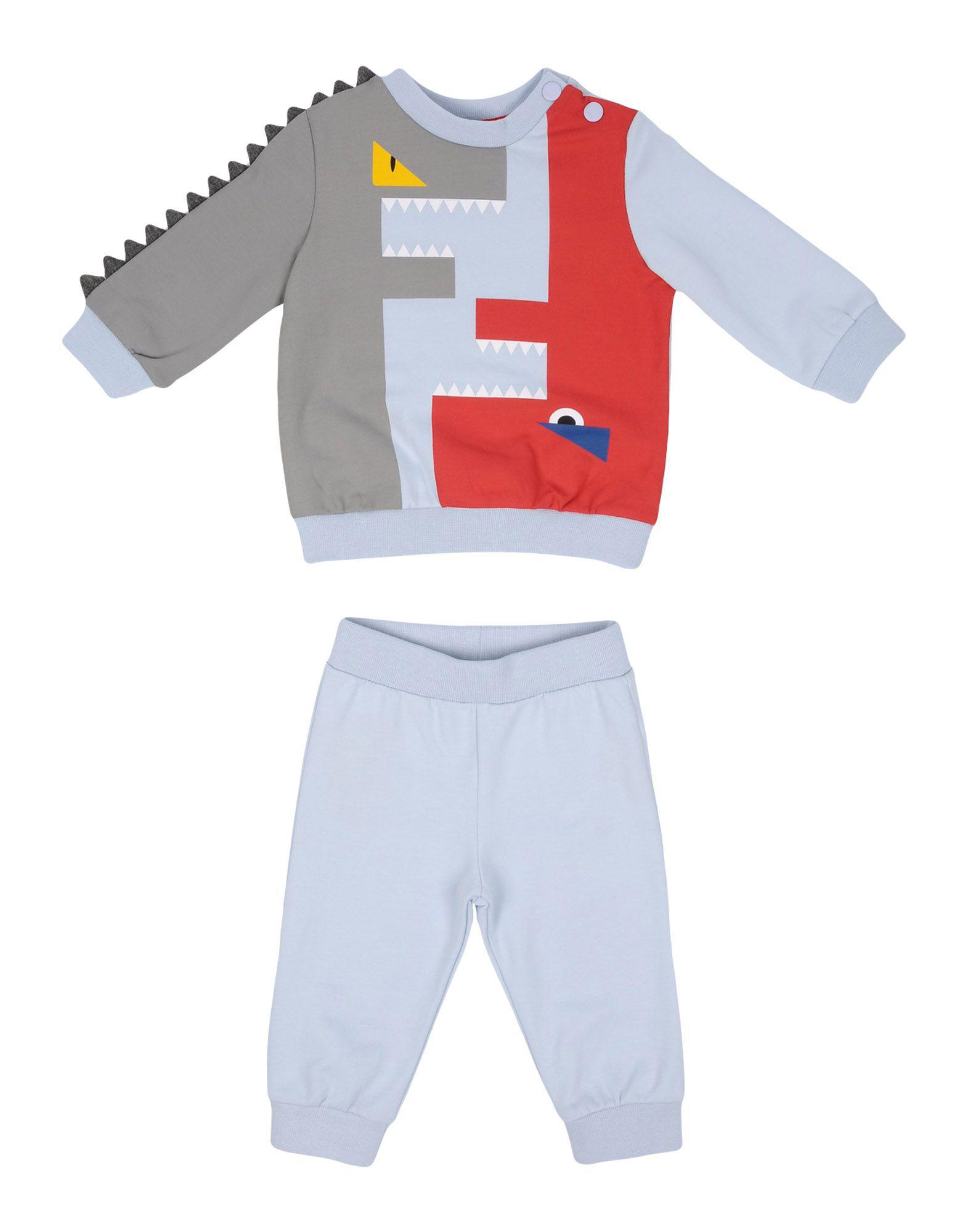 08032d15f most popular 3dfbe c13f5 lyst fendi baby sweatsuit in blue for men ...