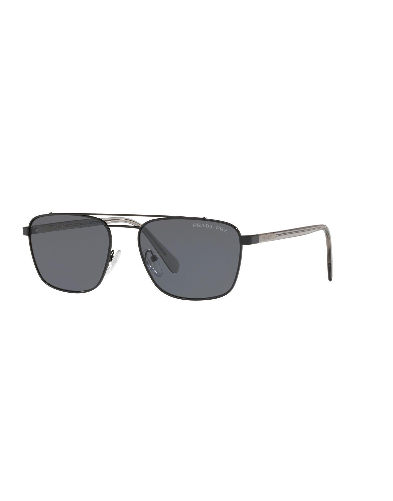 d75498220b Prada - Black Gafas de sol for Men - Lyst. Ver en pantalla completa