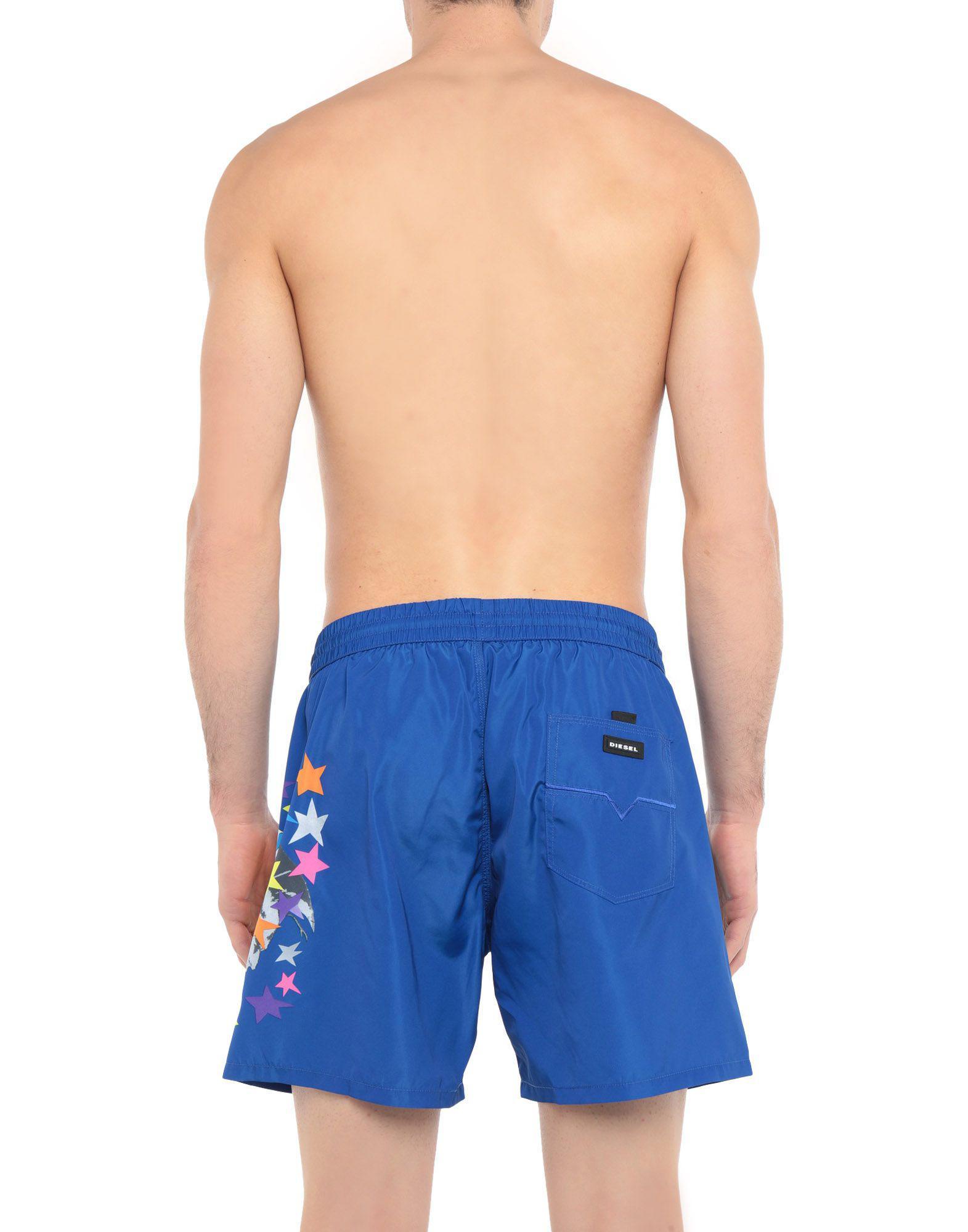 d908e1f953 Lyst - Diesel Swimming Trunks in Blue for Men