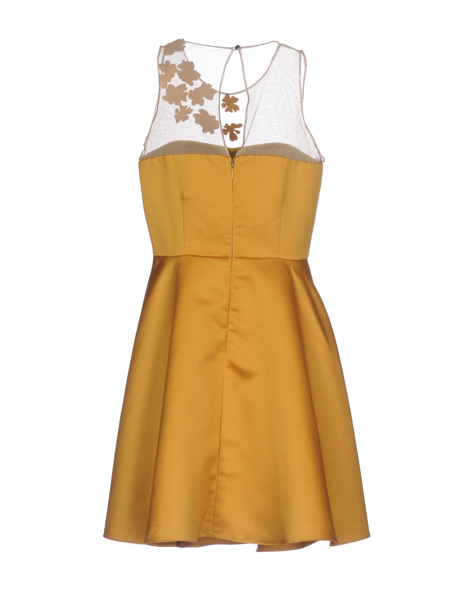 84feda742d9 Pinko - Multicolor Short Dress - Lyst