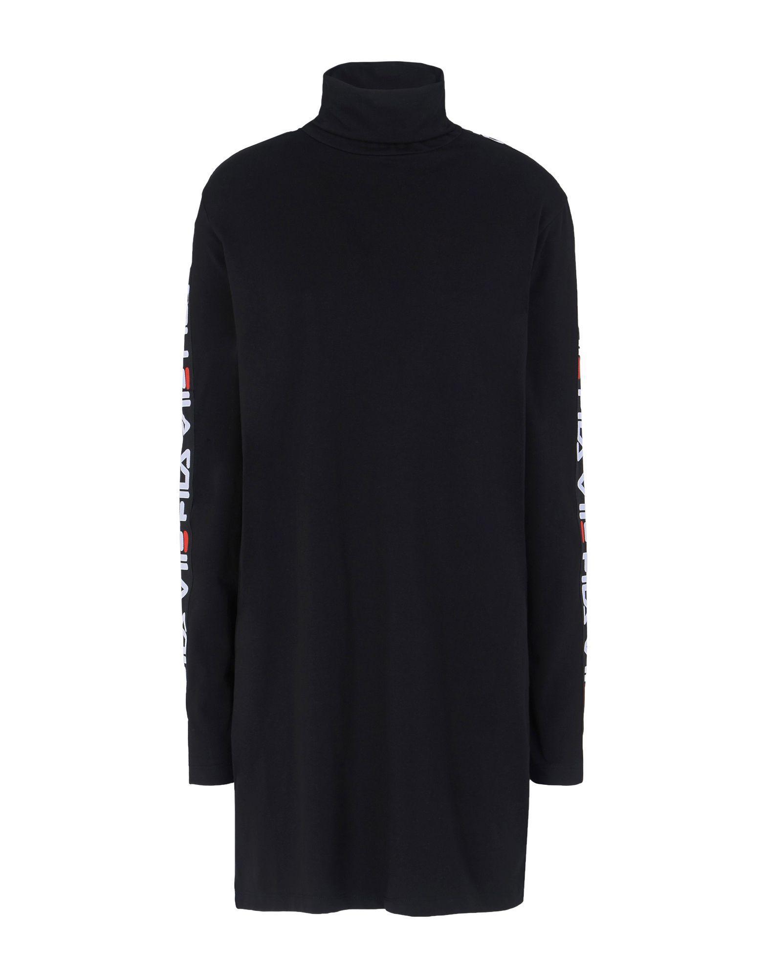 Coloris Robe Noir Courte Lyst Fila En qxIAdS