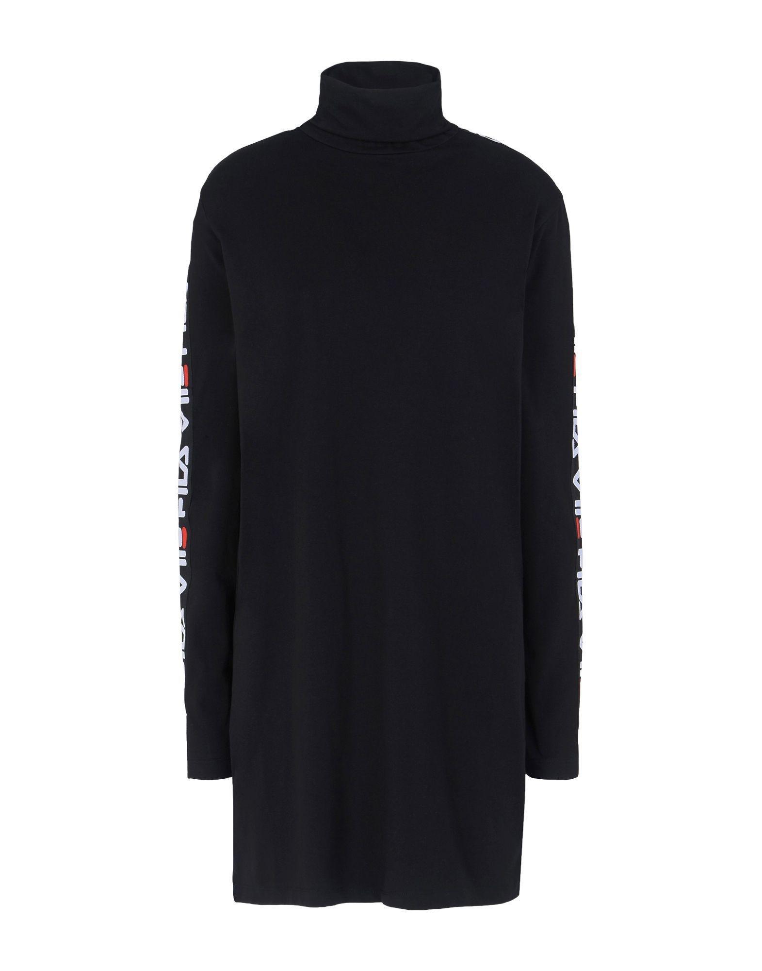 Noir Robe Coloris Courte Fila En Lyst YW8qA8