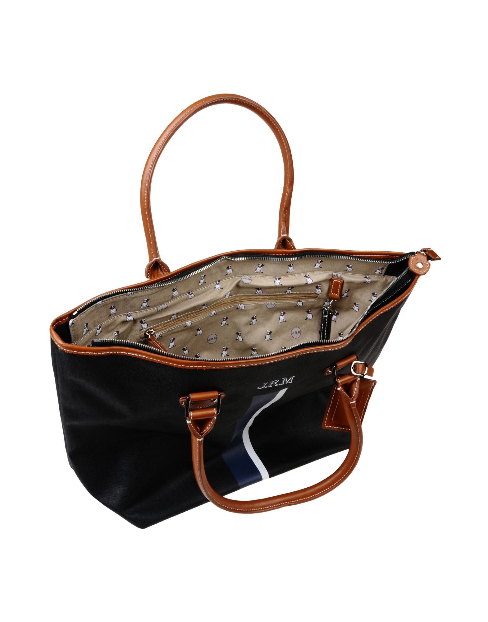 jack russell malletier handbag in black lyst. Black Bedroom Furniture Sets. Home Design Ideas