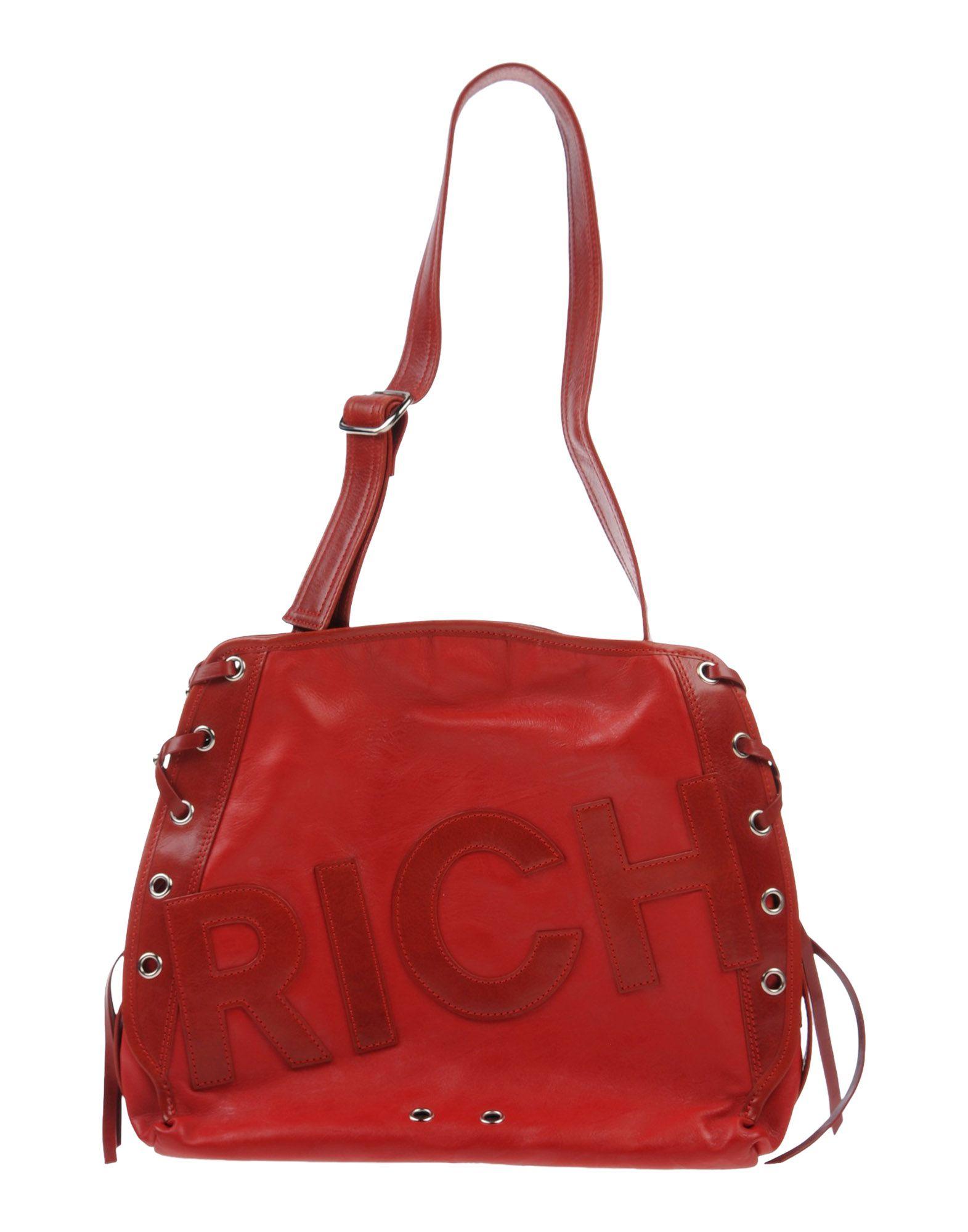 John richmond Shoulder Bag in Red