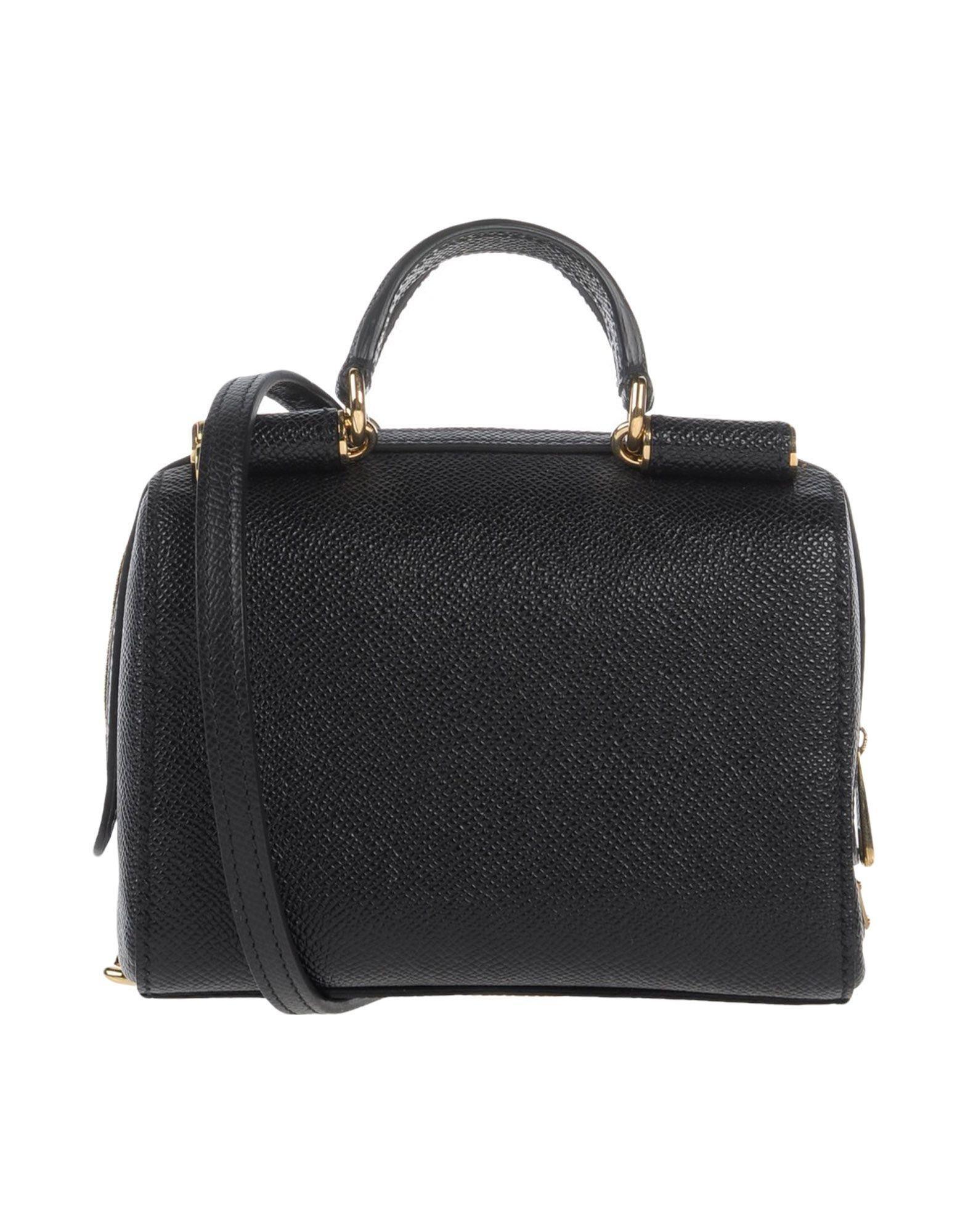 Lyst Dolce Gabbana Handbag In Black