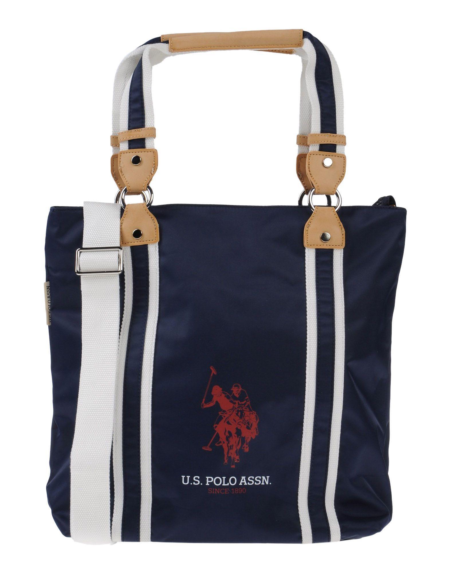 Lyst - U.S. Polo Assn. Handbag in Blue 9f80720d66