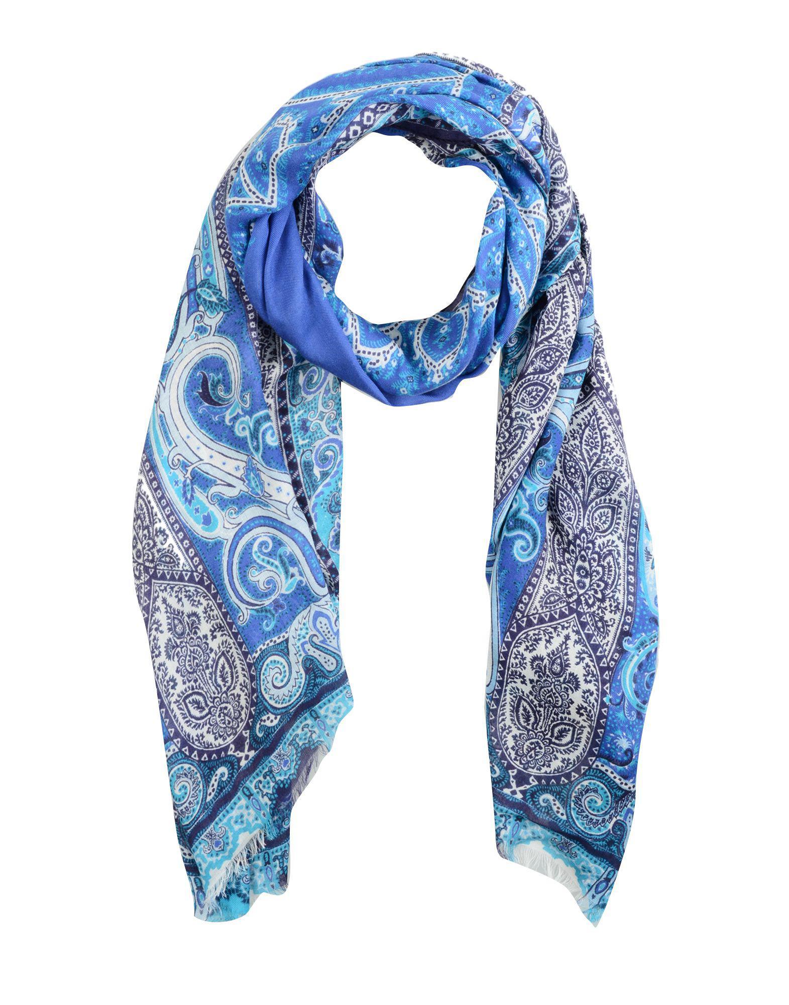 ee473a4e625c Lyst - Étole Etro en coloris Bleu