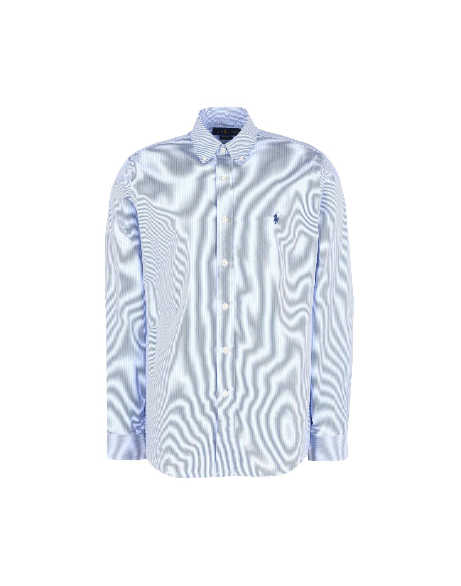 8d44bedc849 Polo Ralph Lauren Shirt in Blue for Men - Lyst