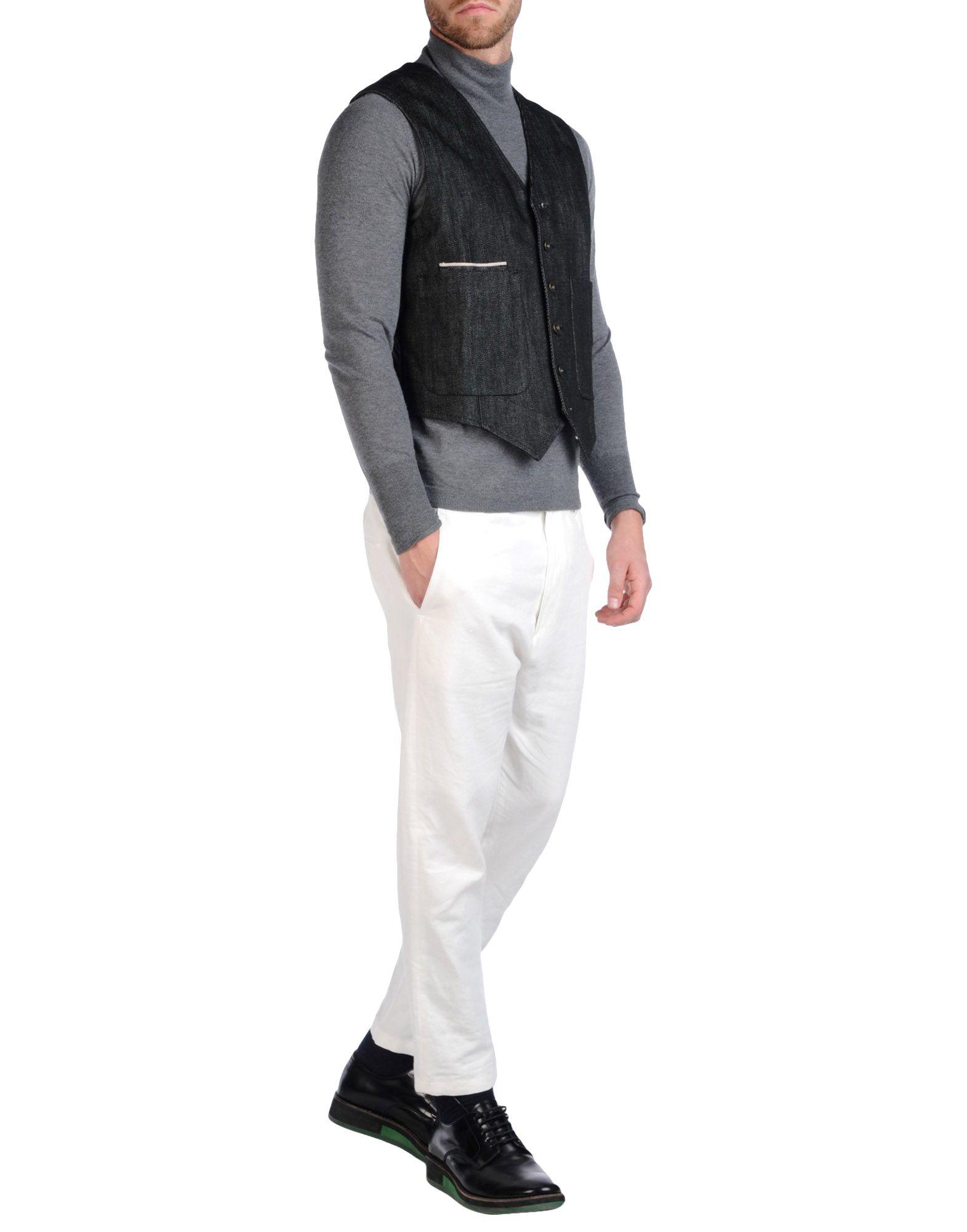 black vest and jeans - photo #29