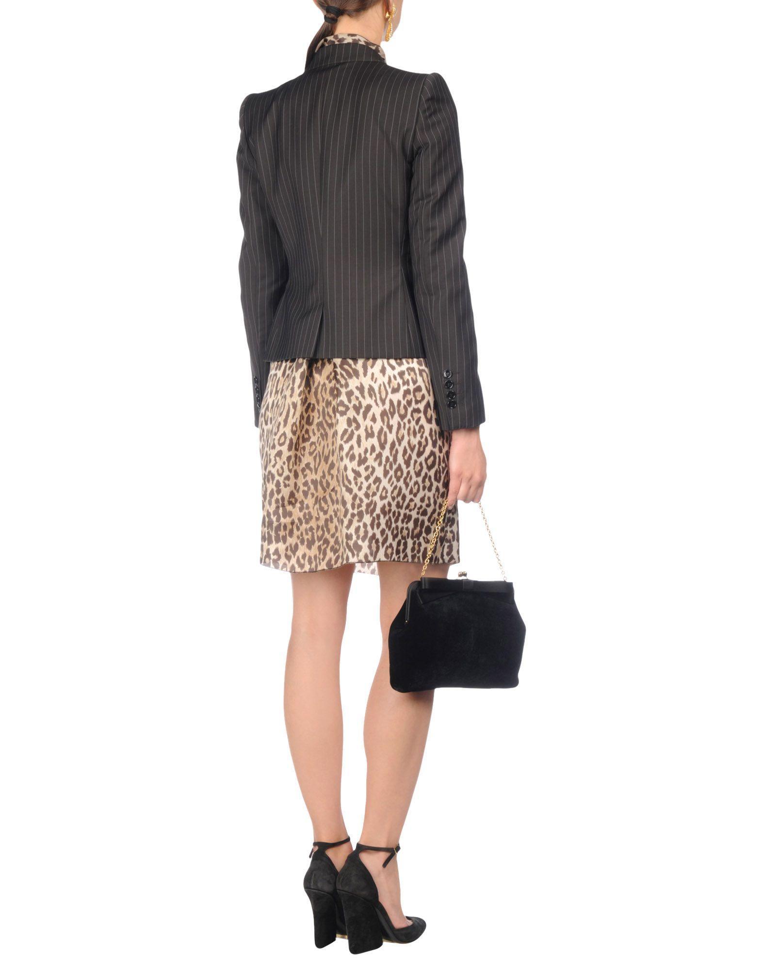Lyst Dolce Amp Gabbana Blazer In Brown