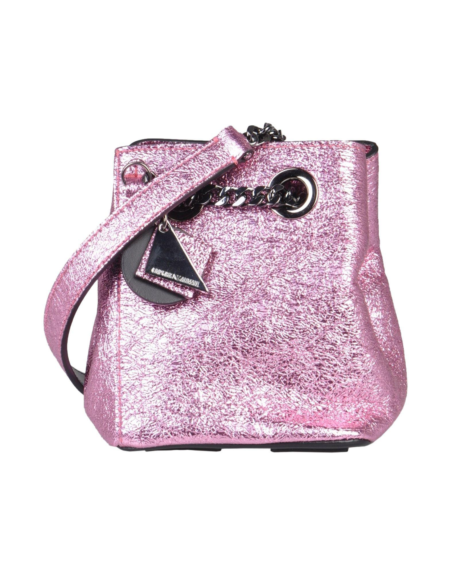 Emporio Armani Cross-body Bag in Pink - Lyst 6ce86df32fcc7