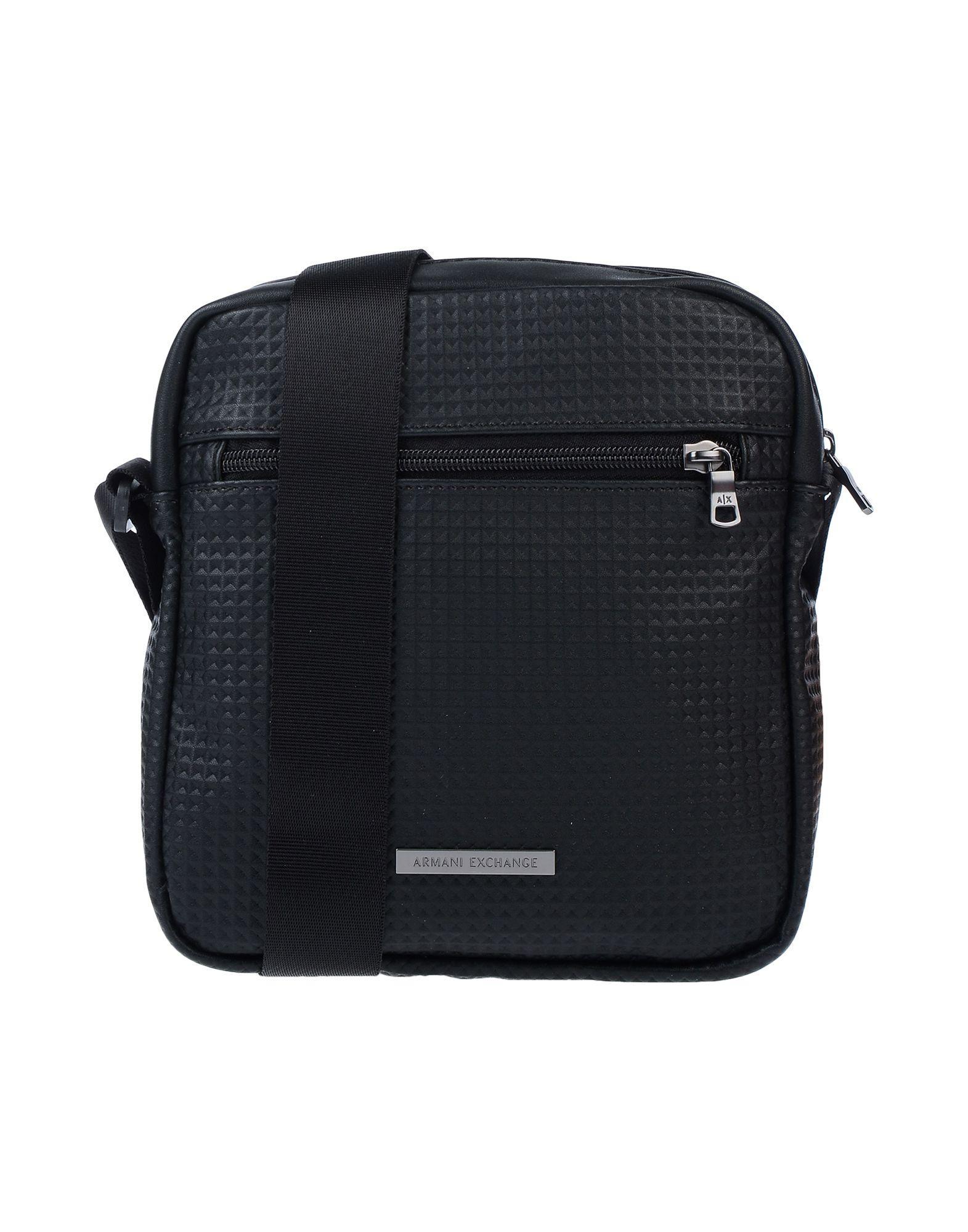 85c63b6d78d7 Armani Exchange - Black Cross-body Bag for Men - Lyst. View fullscreen