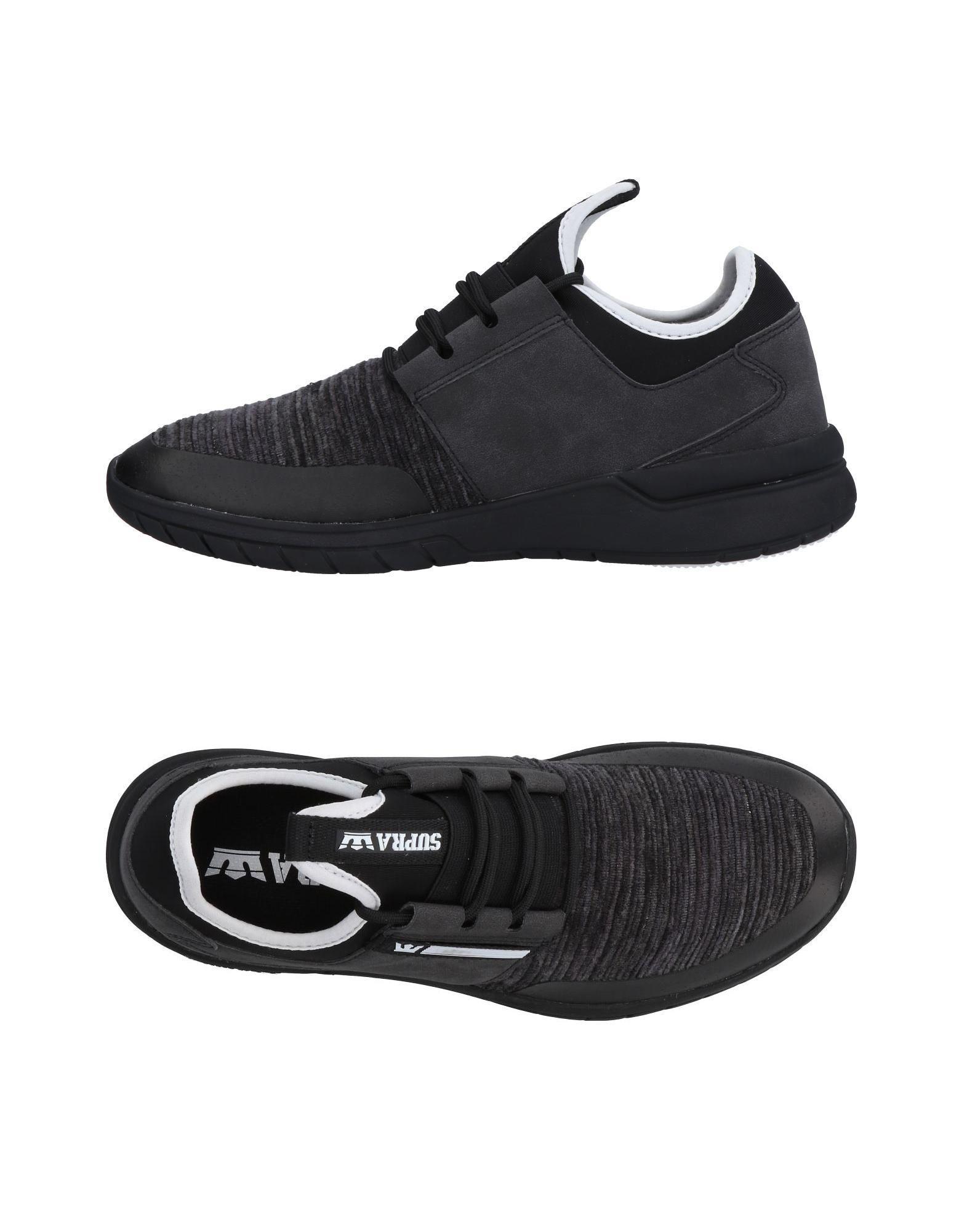 5162add06b Supra - Gray Low-tops & Sneakers for Men - Lyst. View fullscreen