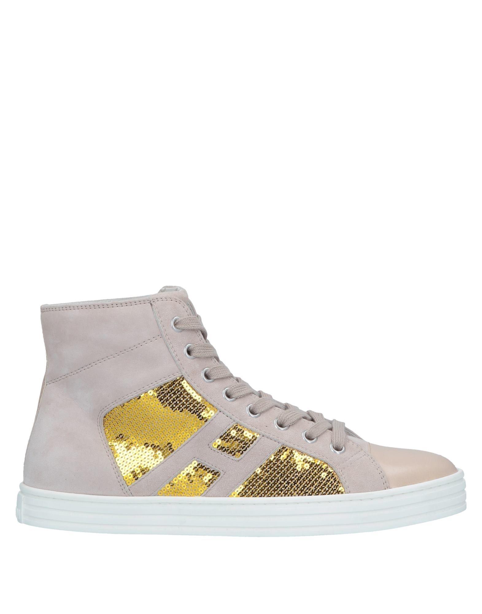 95cecd31475 Lyst - Hogan Rebel High-tops   Sneakers in Natural